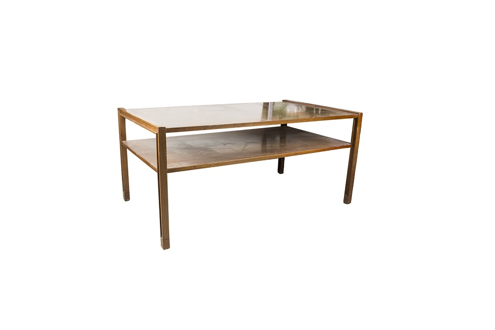 Two Tier Coffee Table by Dunbar