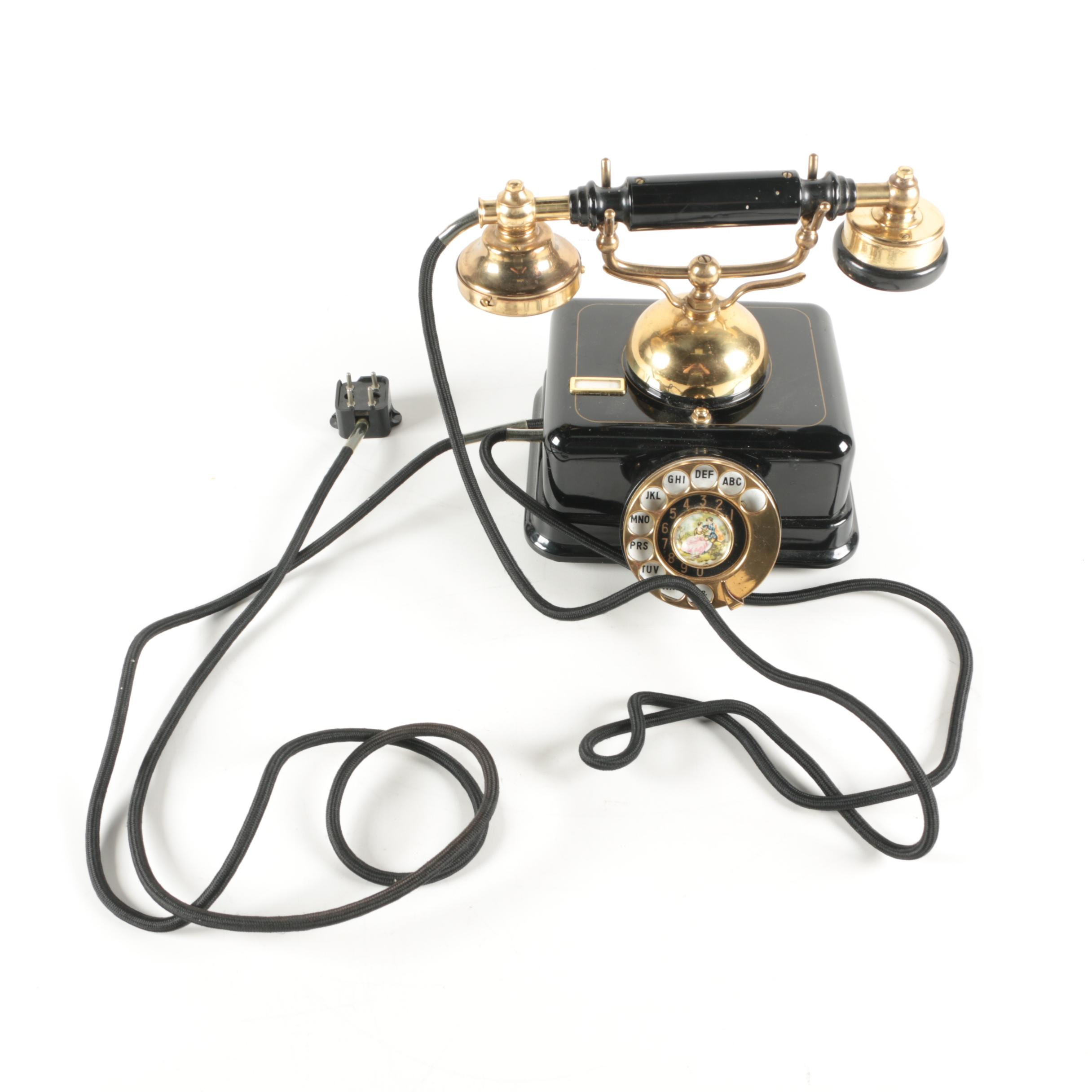 1950s French Style Telephone