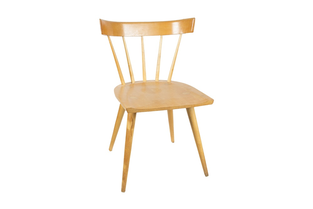"""Paul McCobb """"Planner Group"""" Spindle Back Chair for Winchendon"""