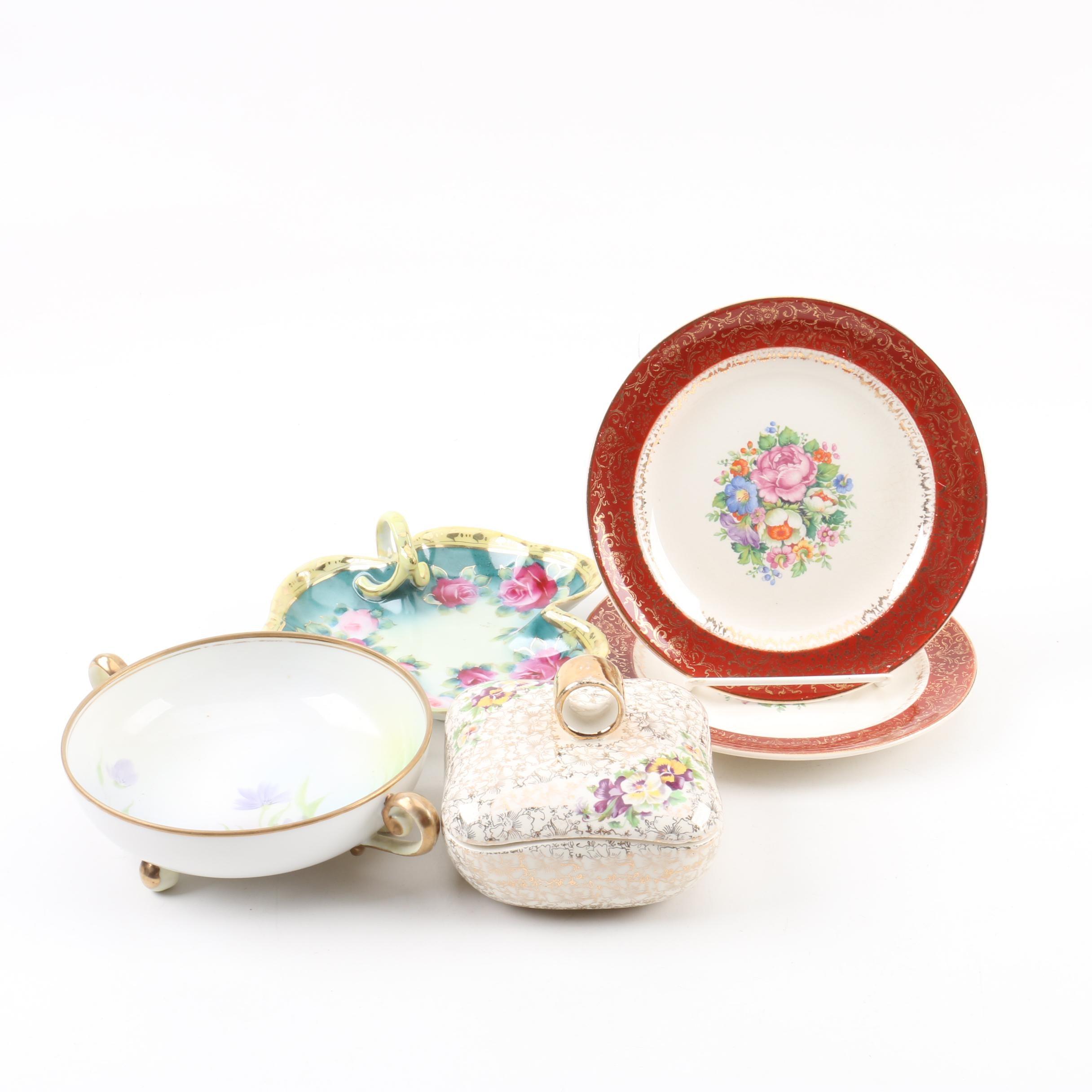 Vintage Porcelain Including Hand-painted Noritake Nippon