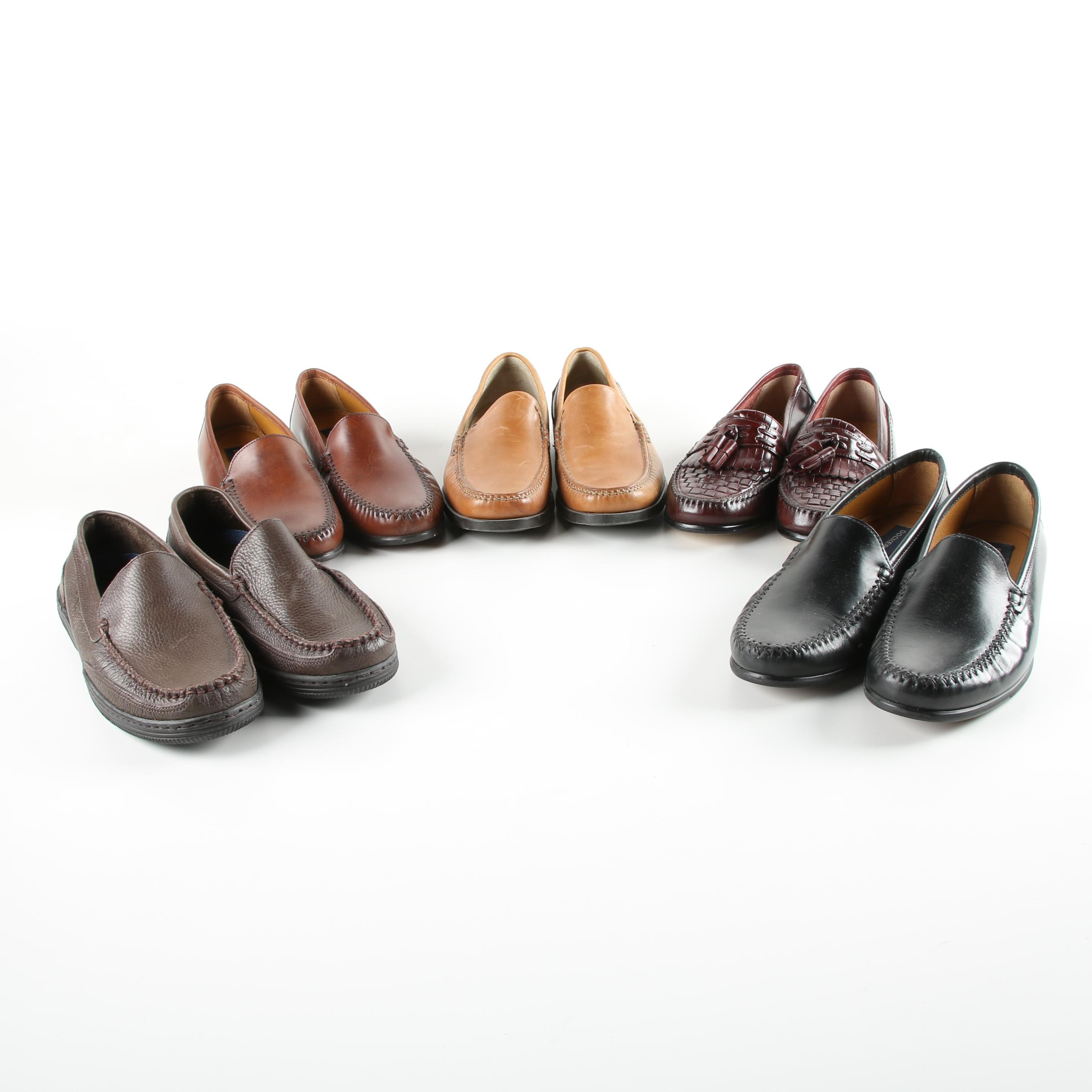 Men's Leather Loafers Including Giorgio Brutini