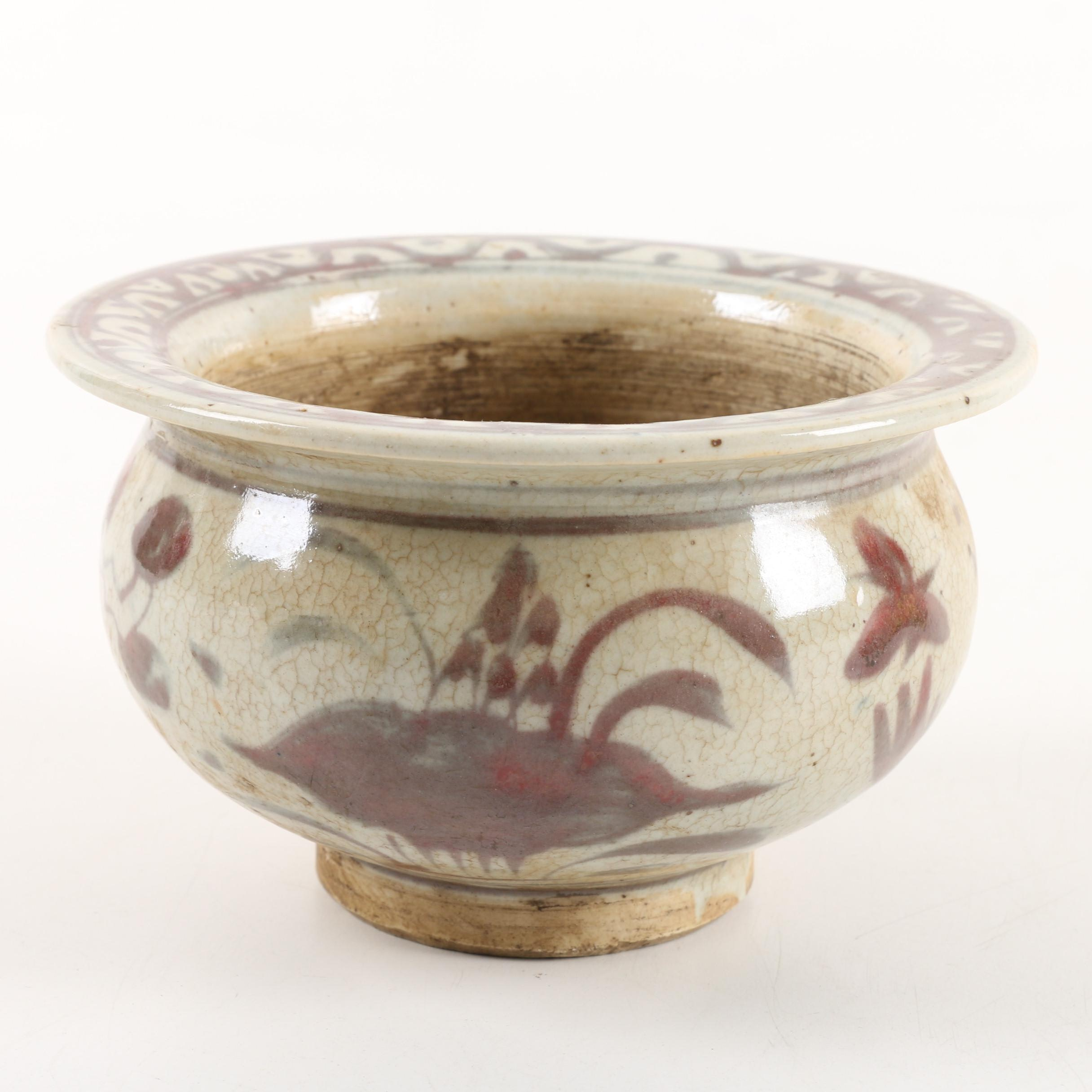 Contemporary Chinese Ceramic Planter