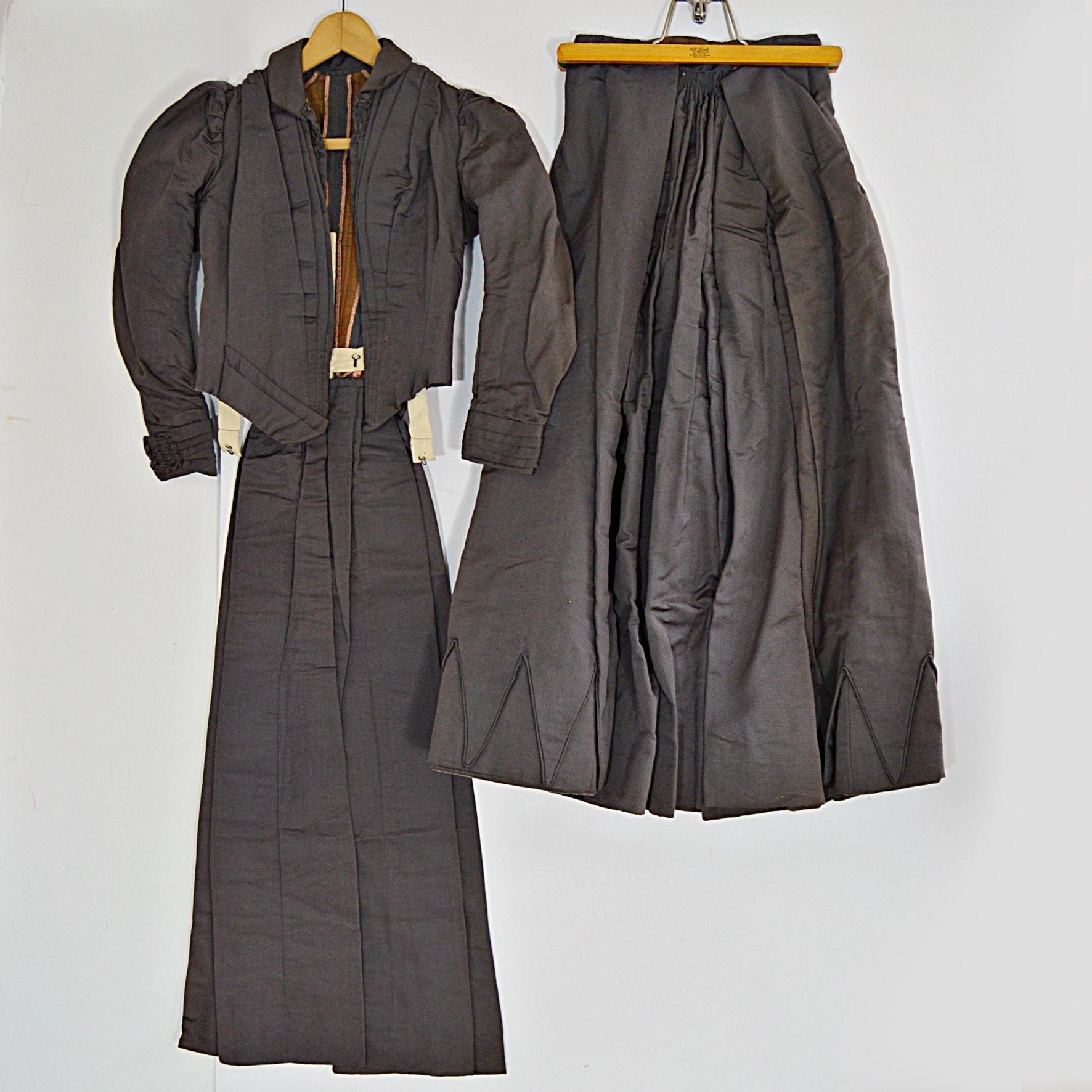 Mid 19th Century Ladies Wedding Suit