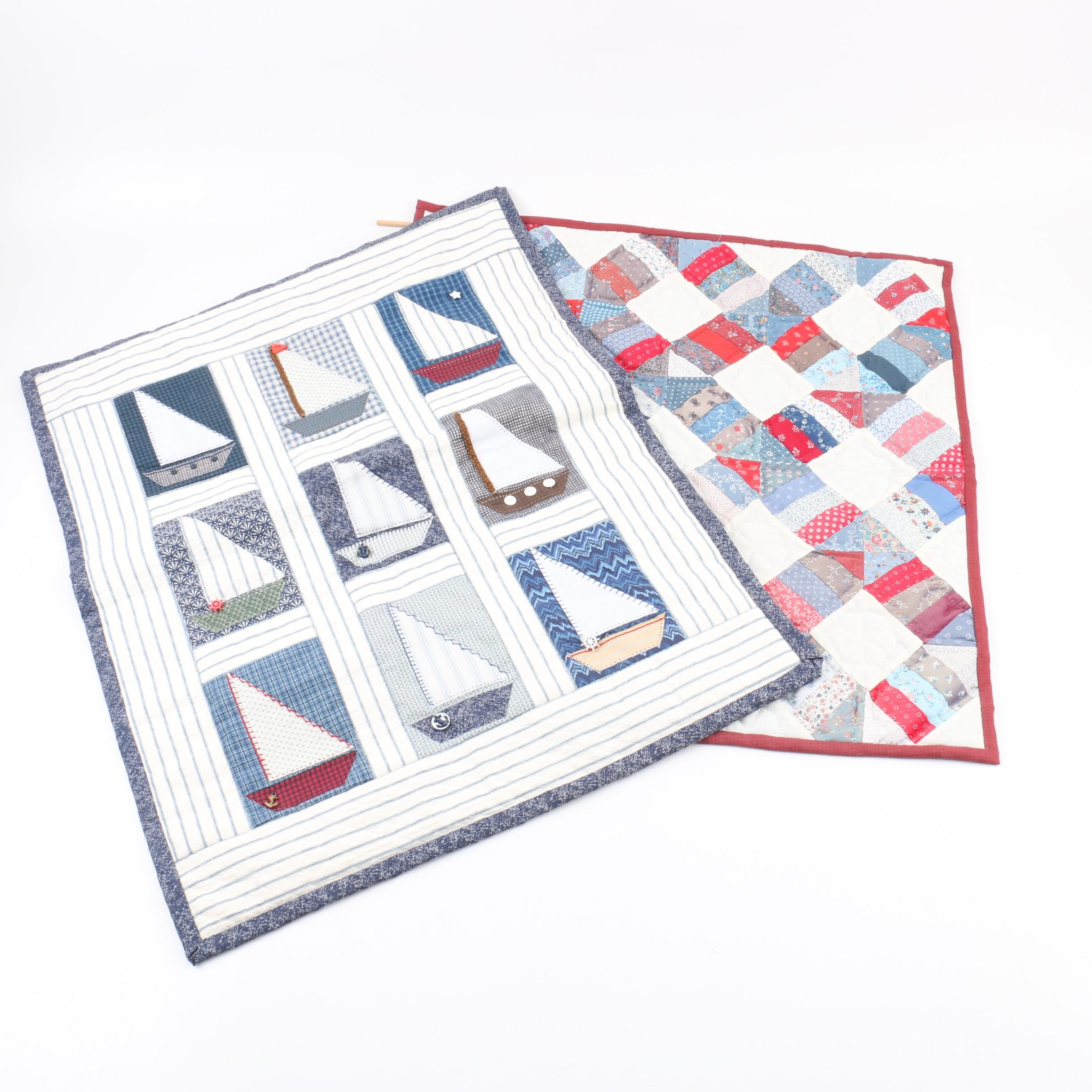 Handmade Quilted Panels