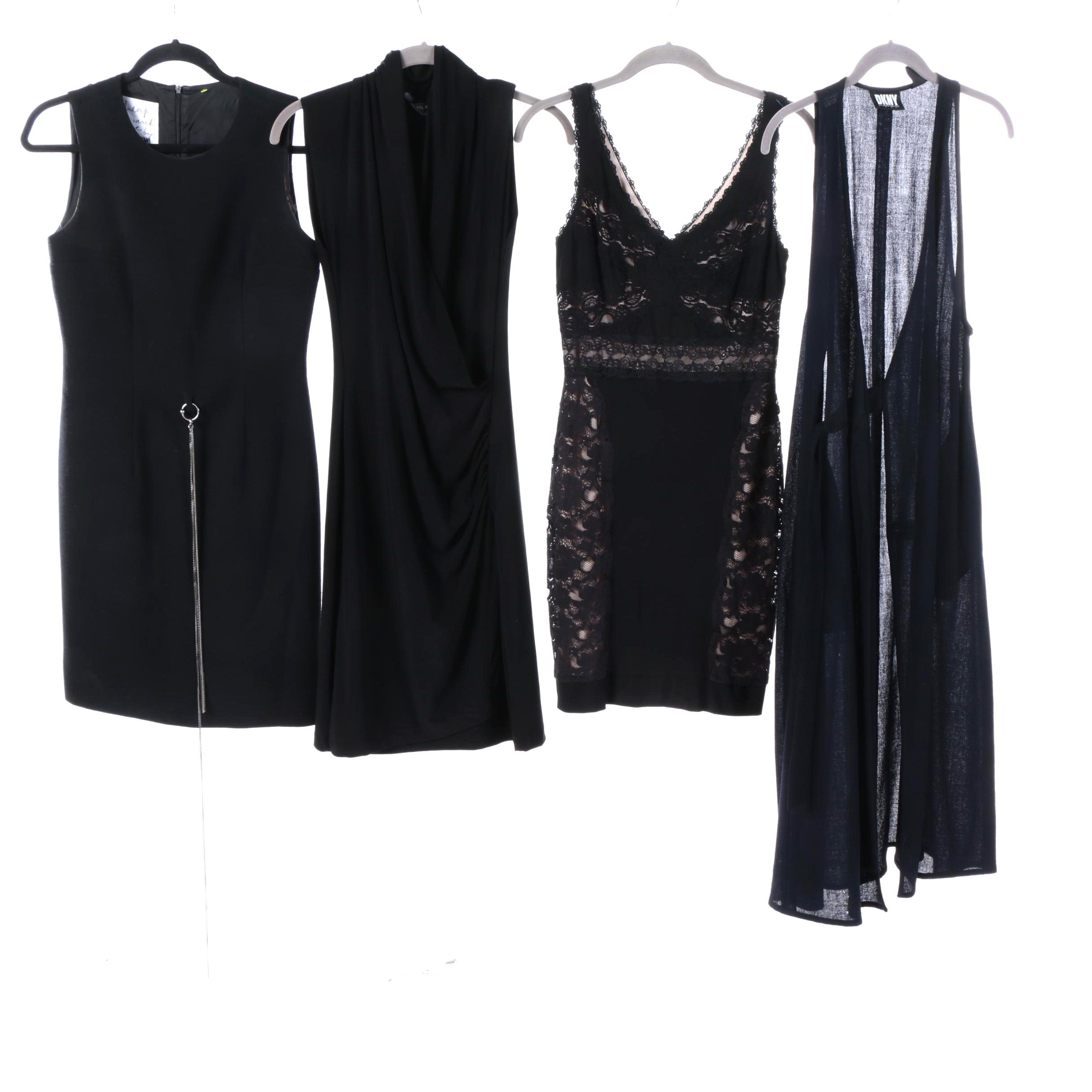 Moschino, Norma Kamali, Donna Karan and Betsy & Adam Cocktail Dresses