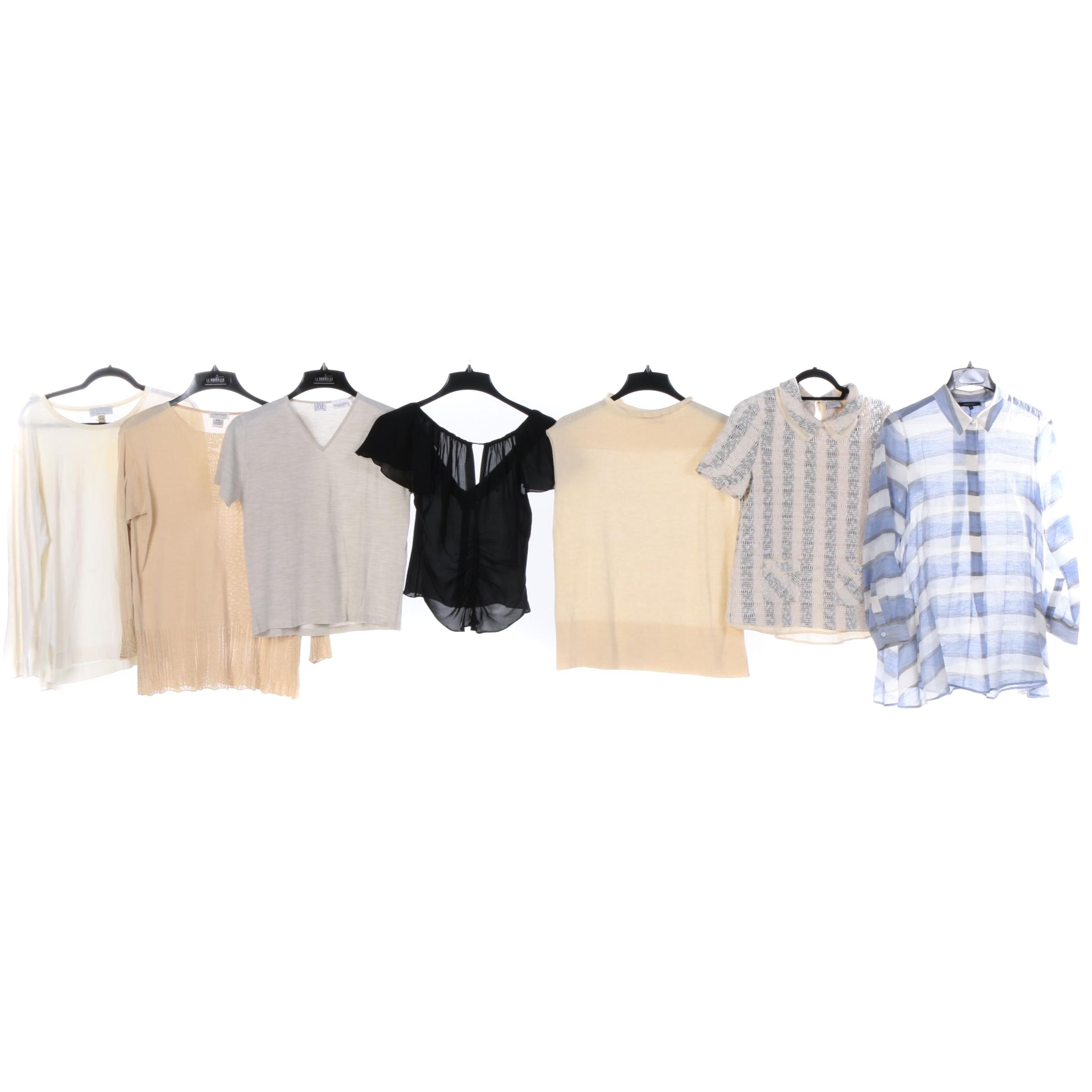 Women's Contemporary Tops Including Zac Posen and Lafayette 148