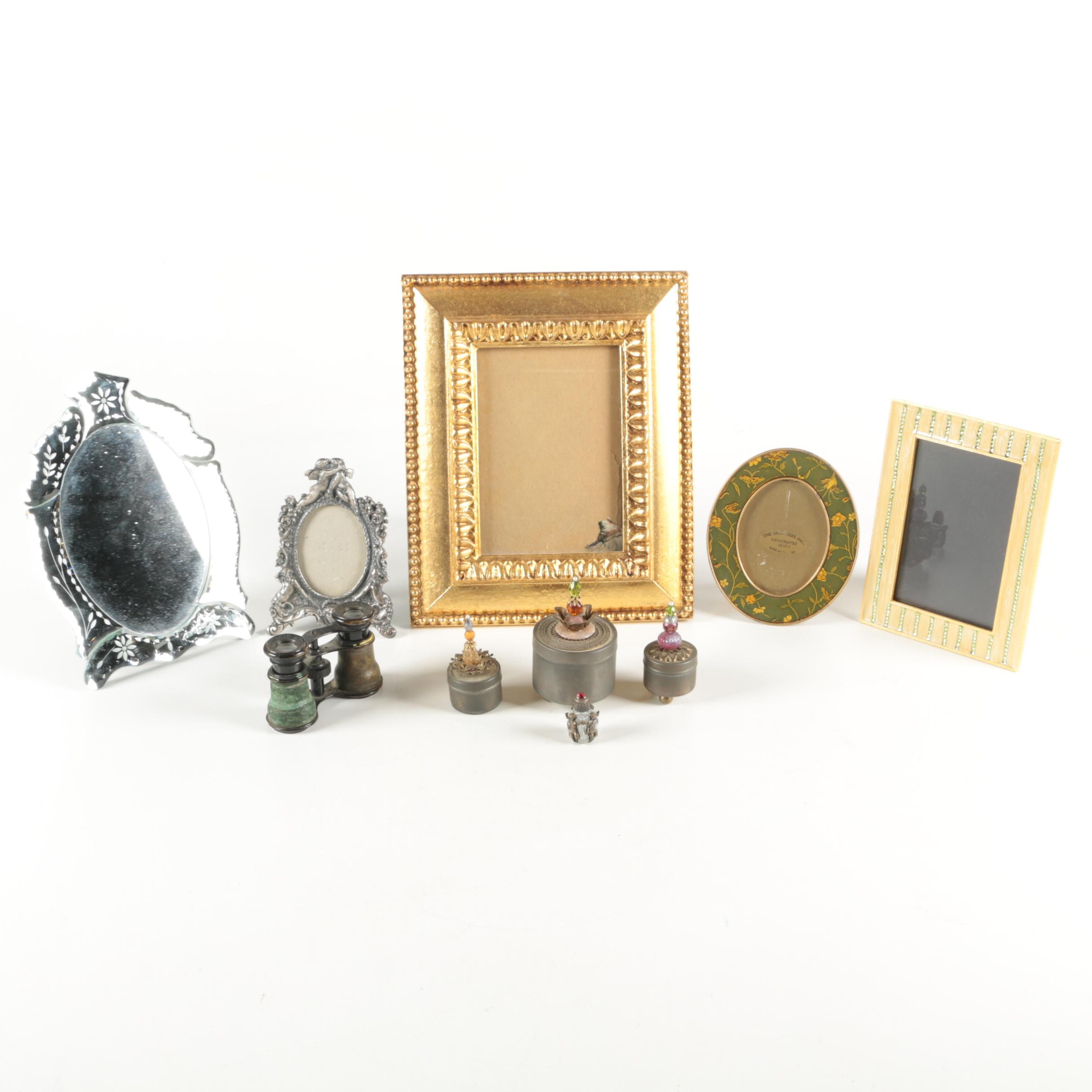 Colby Opera Glasses and Frames with Decorative Boxes