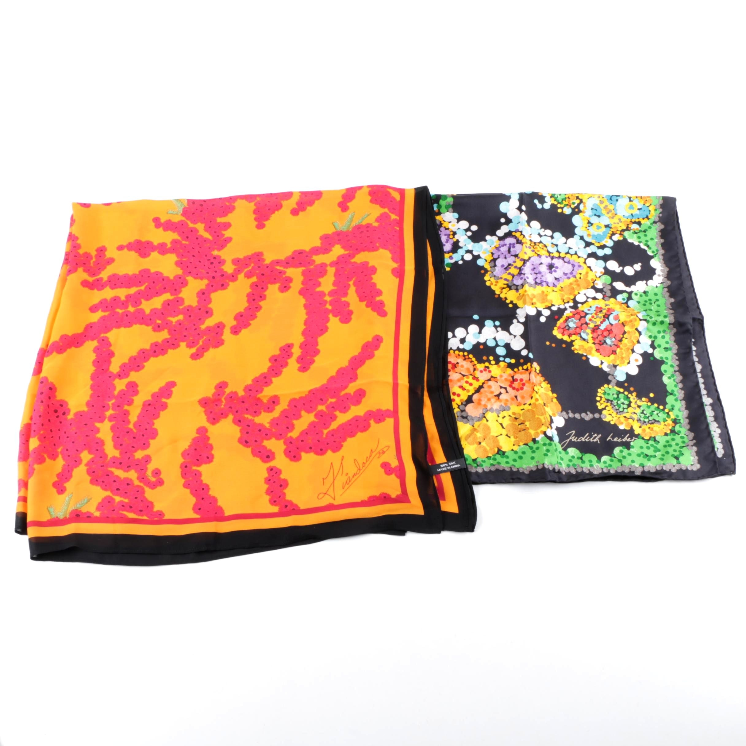 Silk Scarves by Judith Leiber and Fiandaca