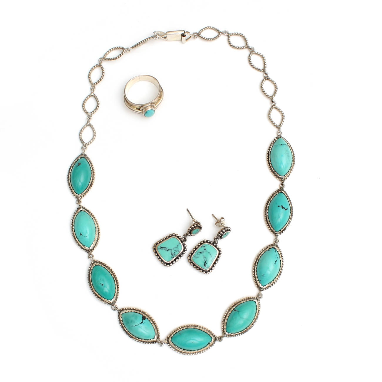 Sterling Silver Jewelry with Gemstones