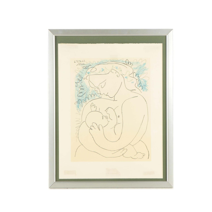 Lithograph After Pablo Picasso \