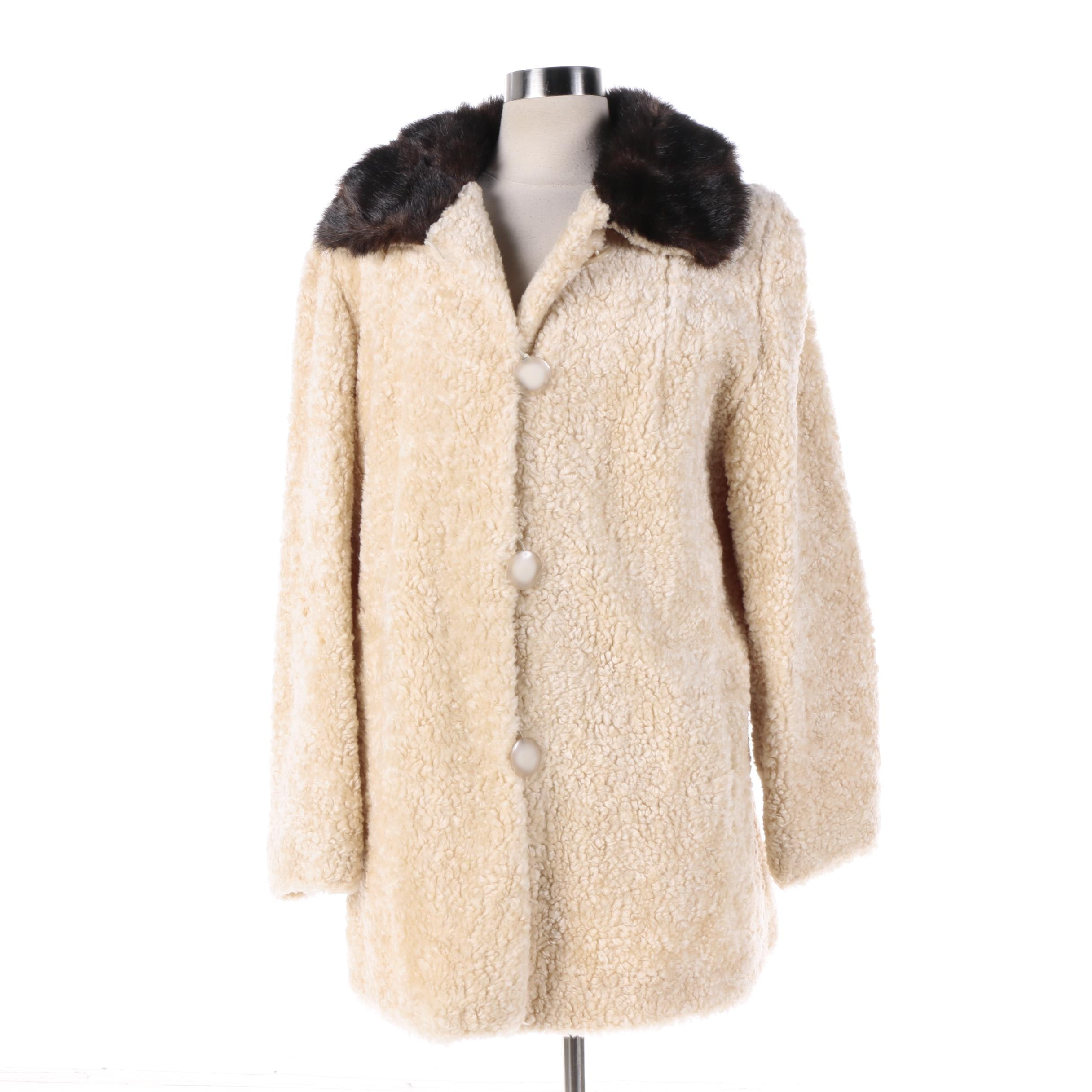 Women's Scandinavian Faux Fur Coat