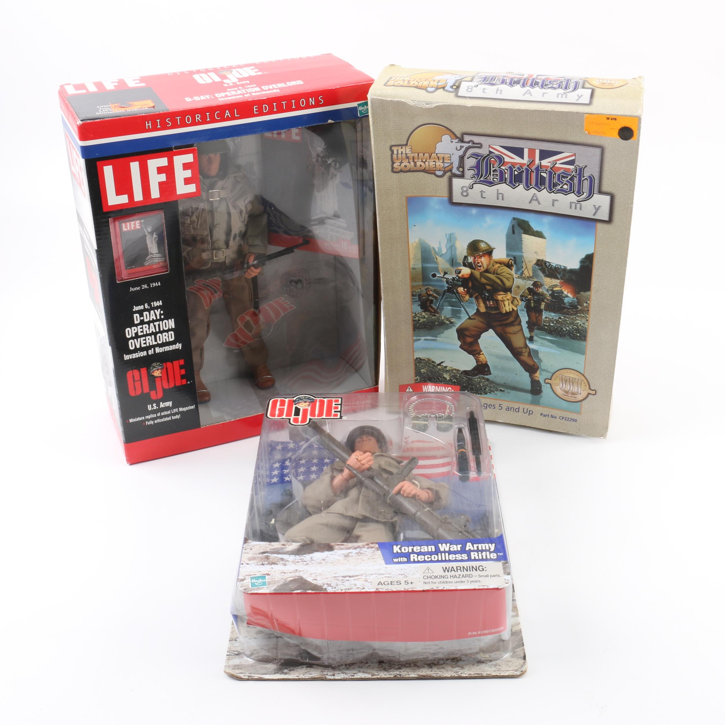 "Hasbro ""G.I. Joe"" and ""British 8th Army"" Dolls"
