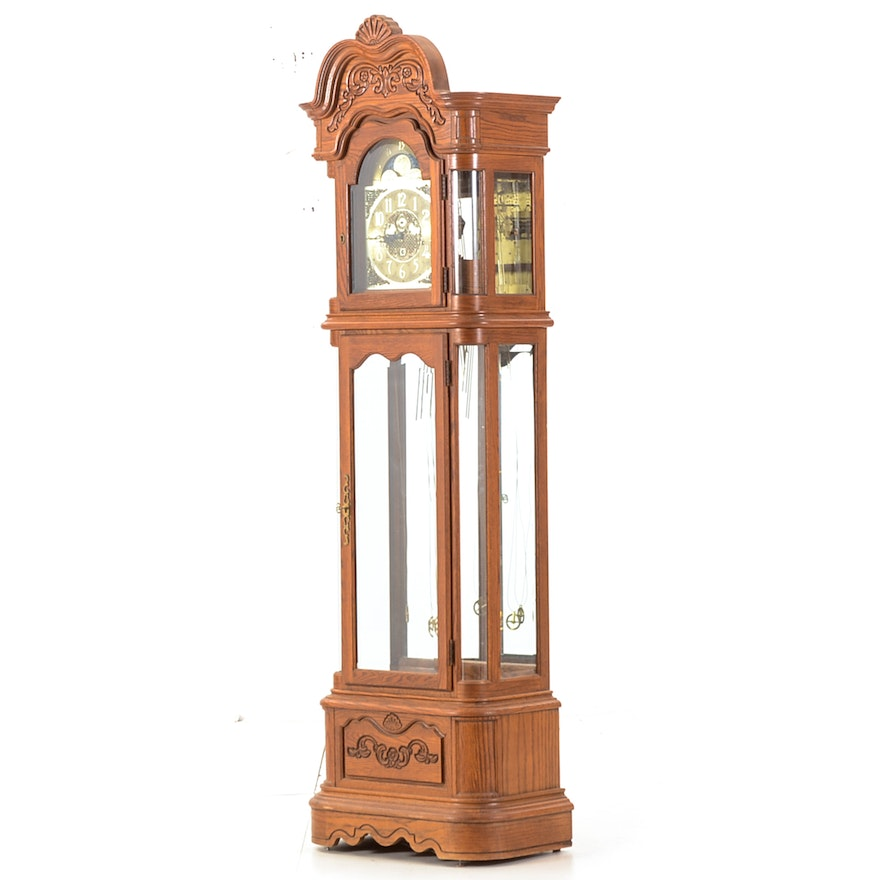 Ridgeway Oak Grandfather Clock