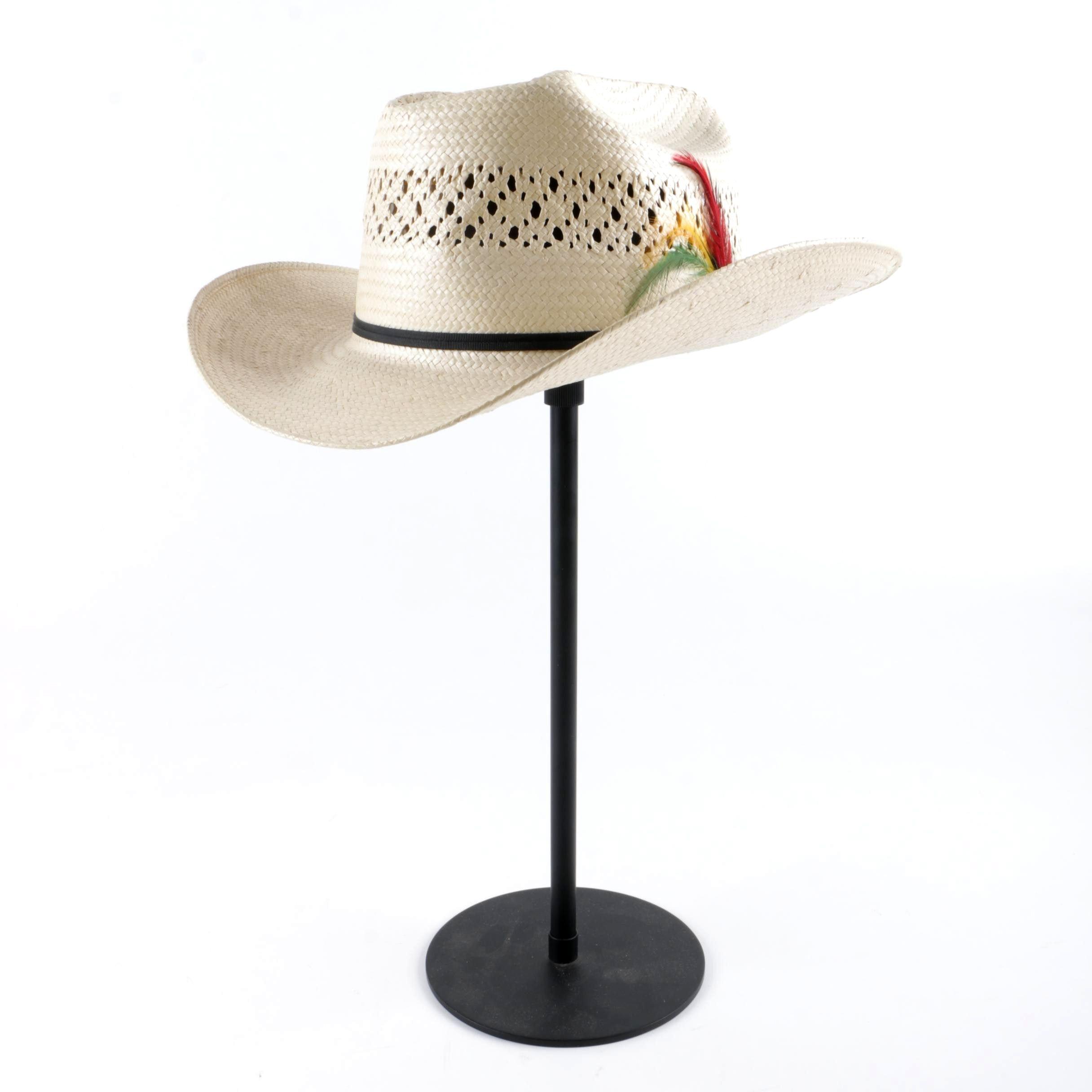 Men's John B. Stetson Company Ranger Natural Woven Straw Cowboy Hat