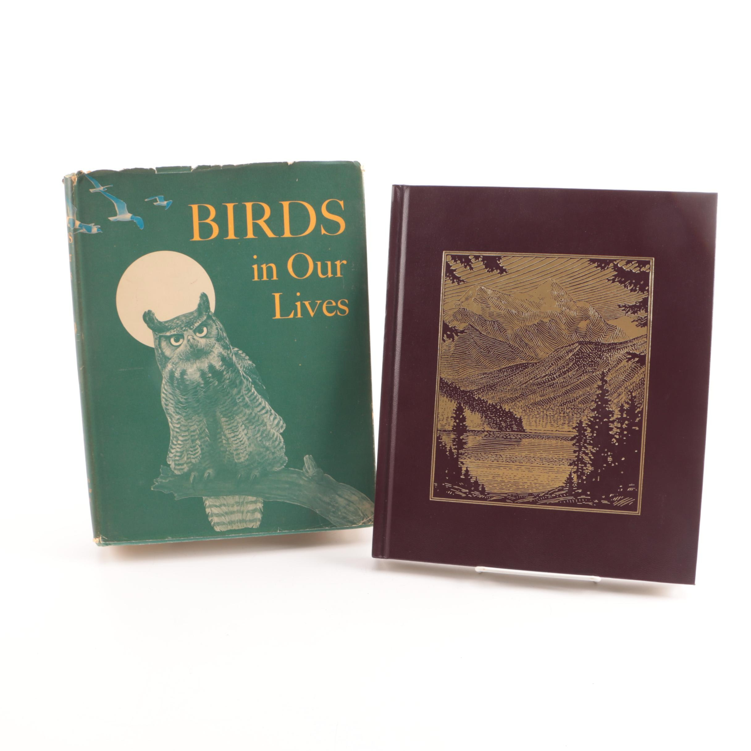 """National Parks of America"" and ""Birds in Our Lives"" Nature Books"