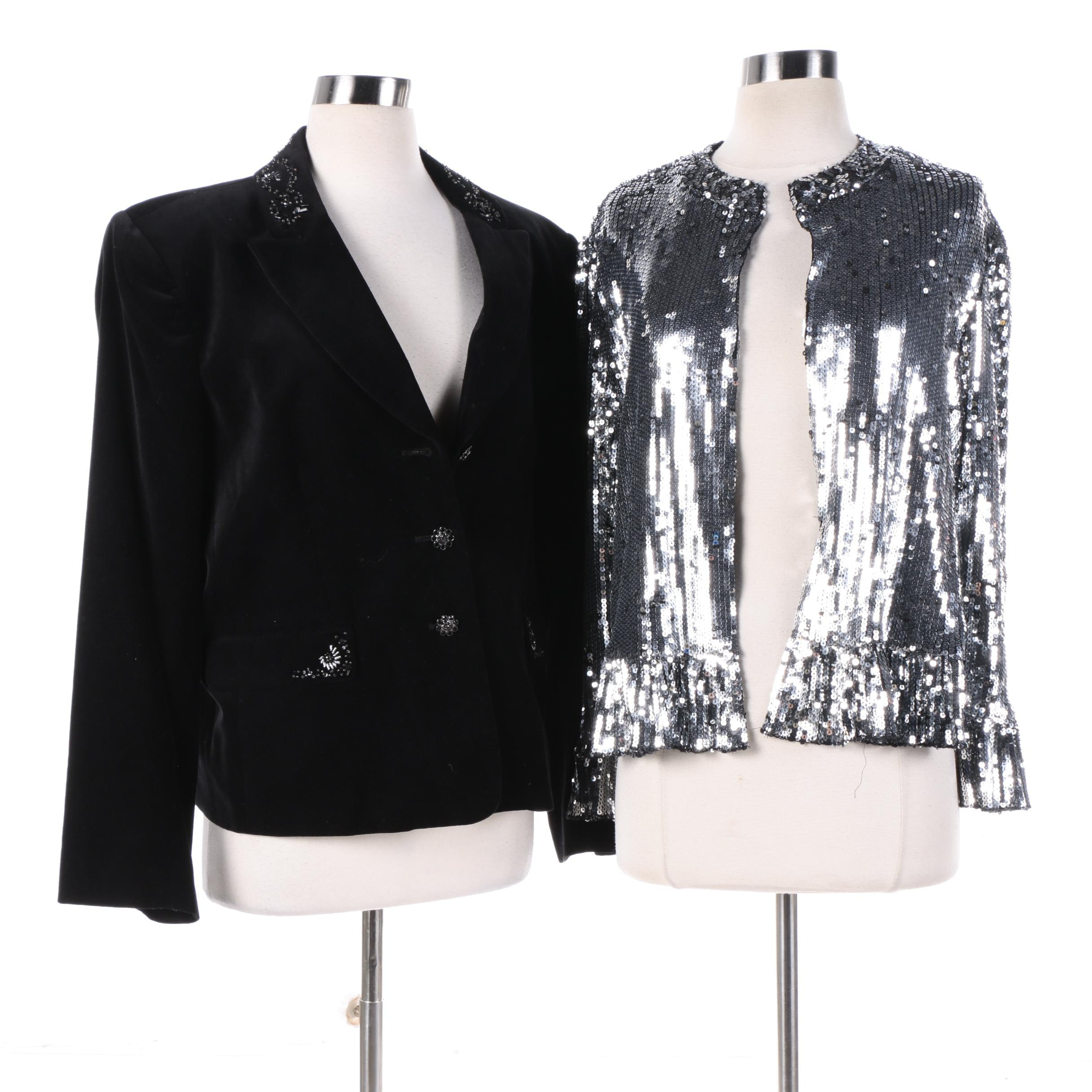 Women's Jackets Including I.N.C. International Concepts Petite