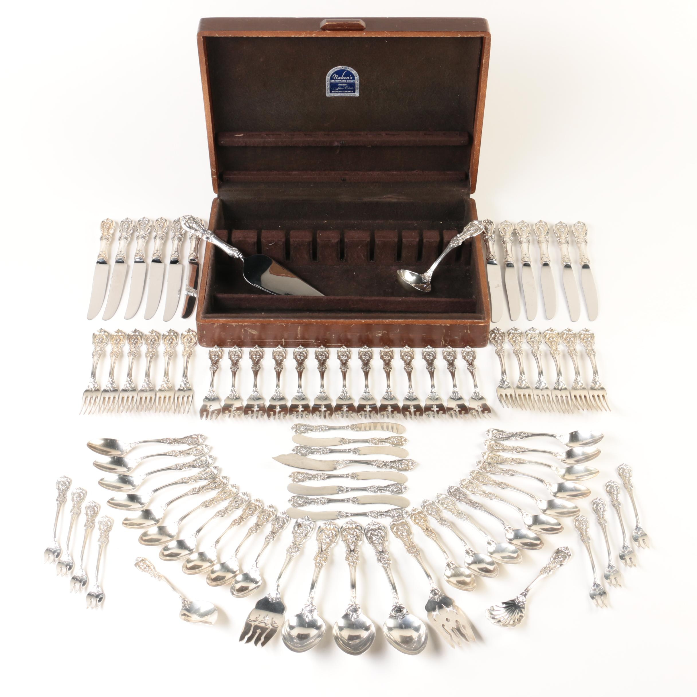 "Reed & Barton ""Francis I"" Sterling Silver Flatware Set"