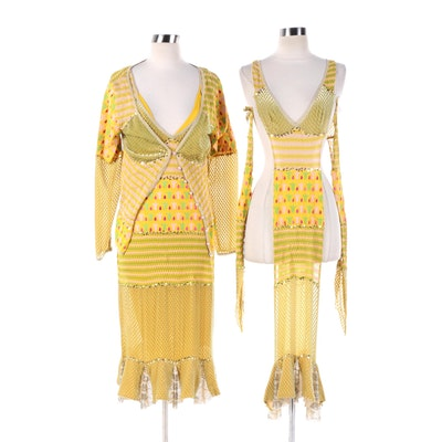Christian Dior Boutique 21st Century Jaipur Gypsy Beaded and Sequined Ensemble