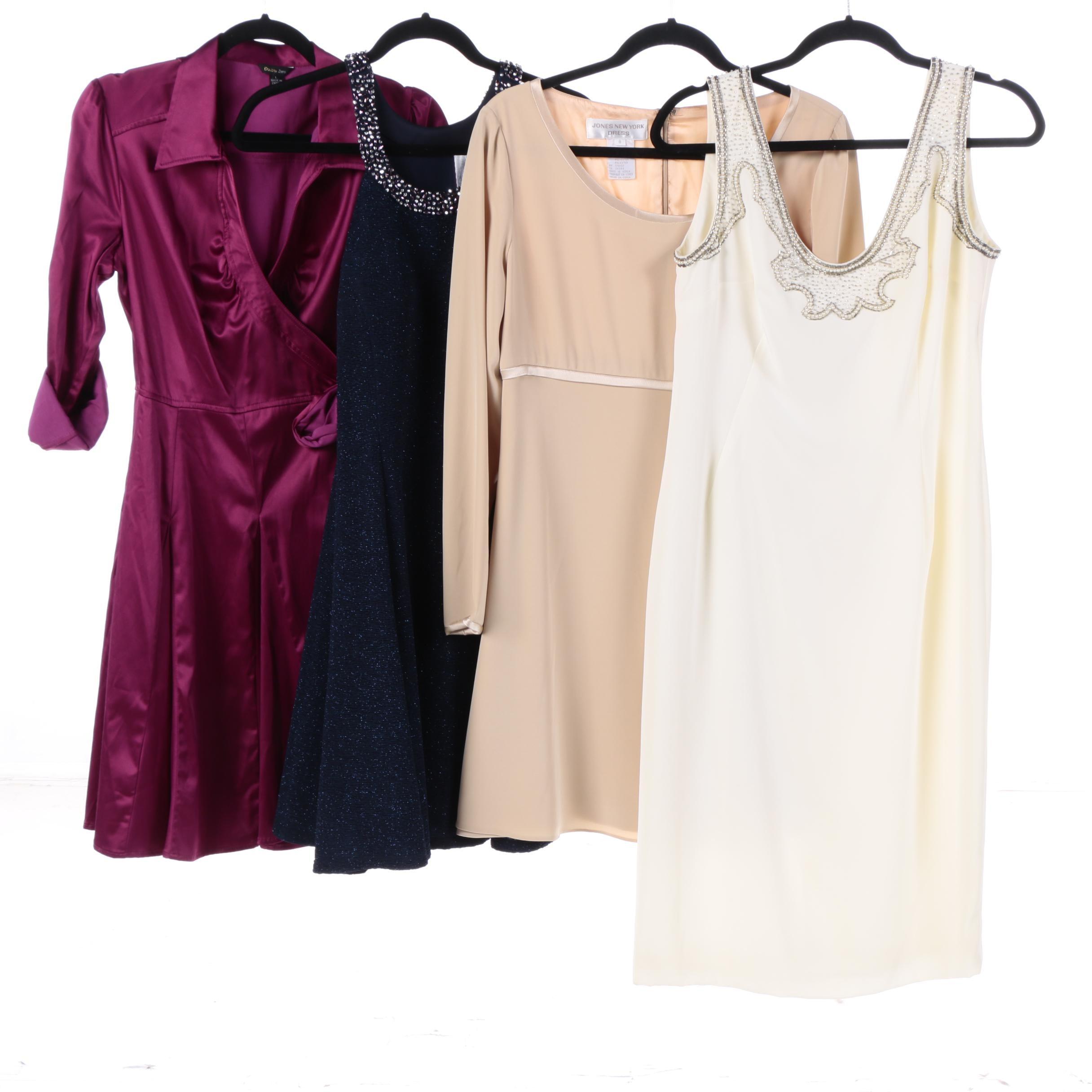 Cocktail Dresses Including Jones New York, Double Zero and Betsy & Adam