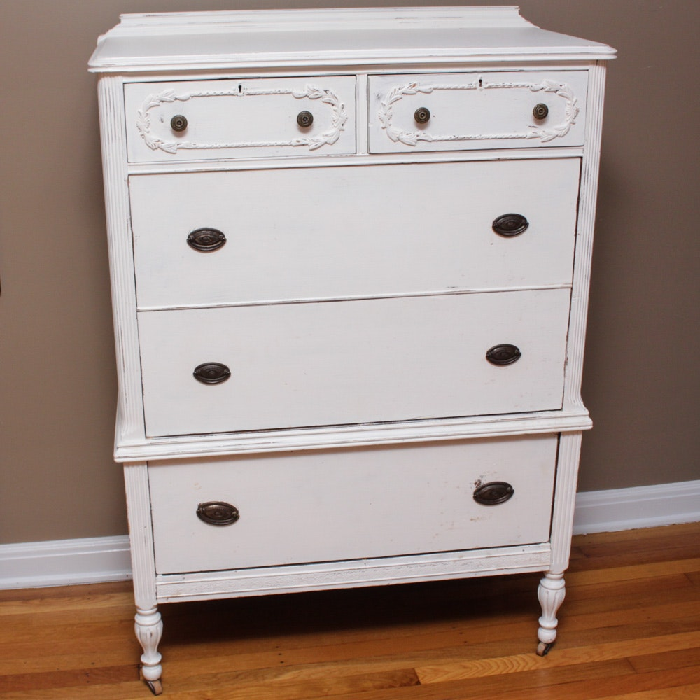 Vintage French Country Style Chest of Drawers