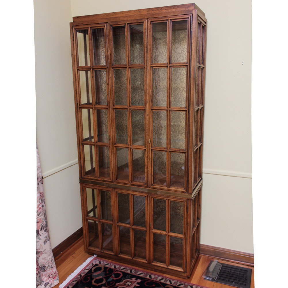 Traditional Hardwood Display Case