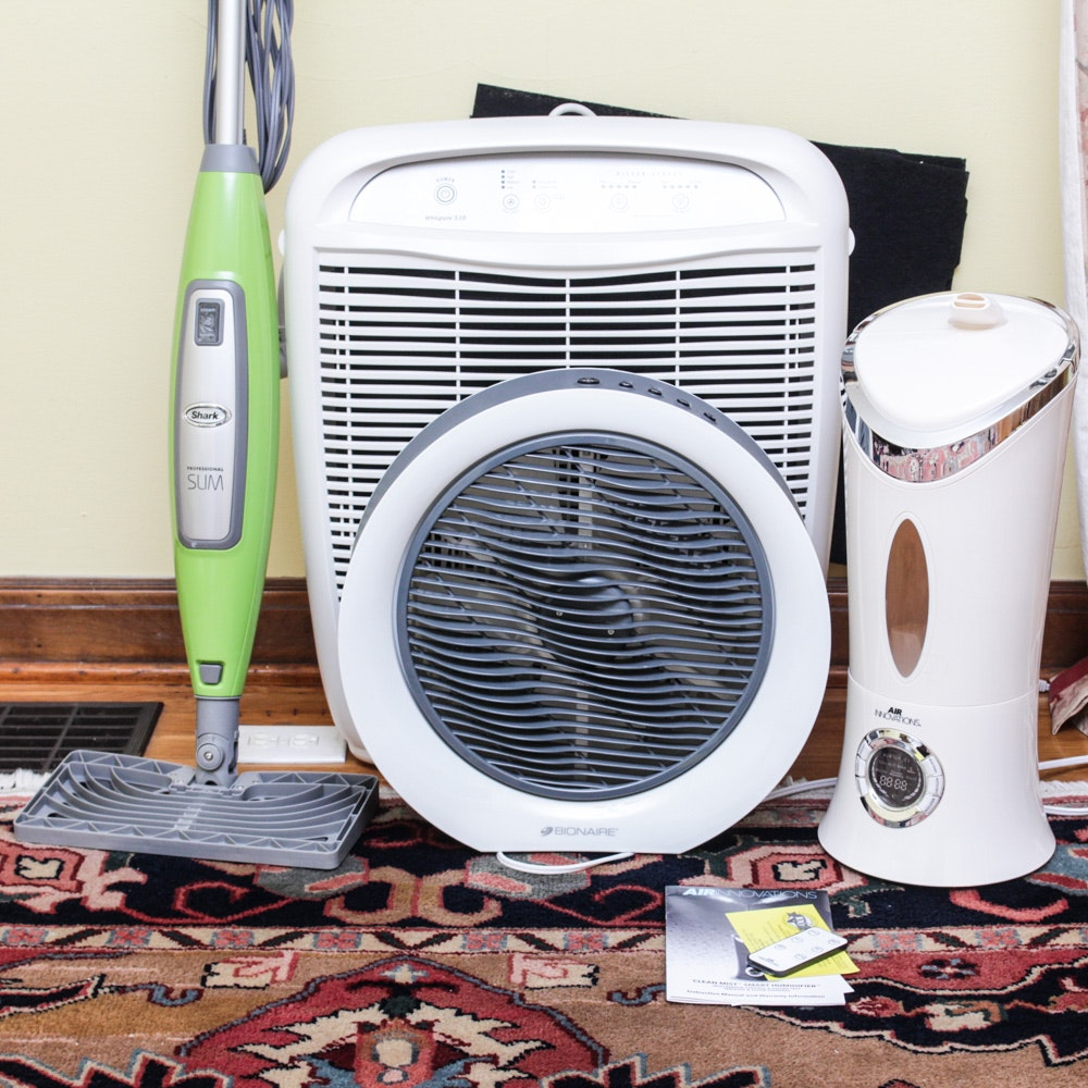 Bionaire Fan and Whirlpool Air Purifier
