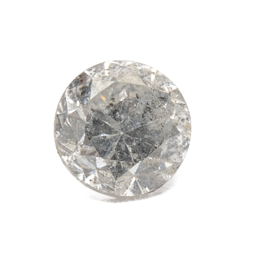 Loose Round Brilliant Cut Diamond
