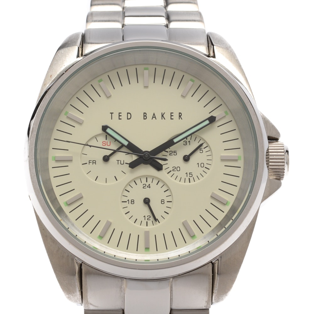 Ted Baker Stainless Steel Wristwatch