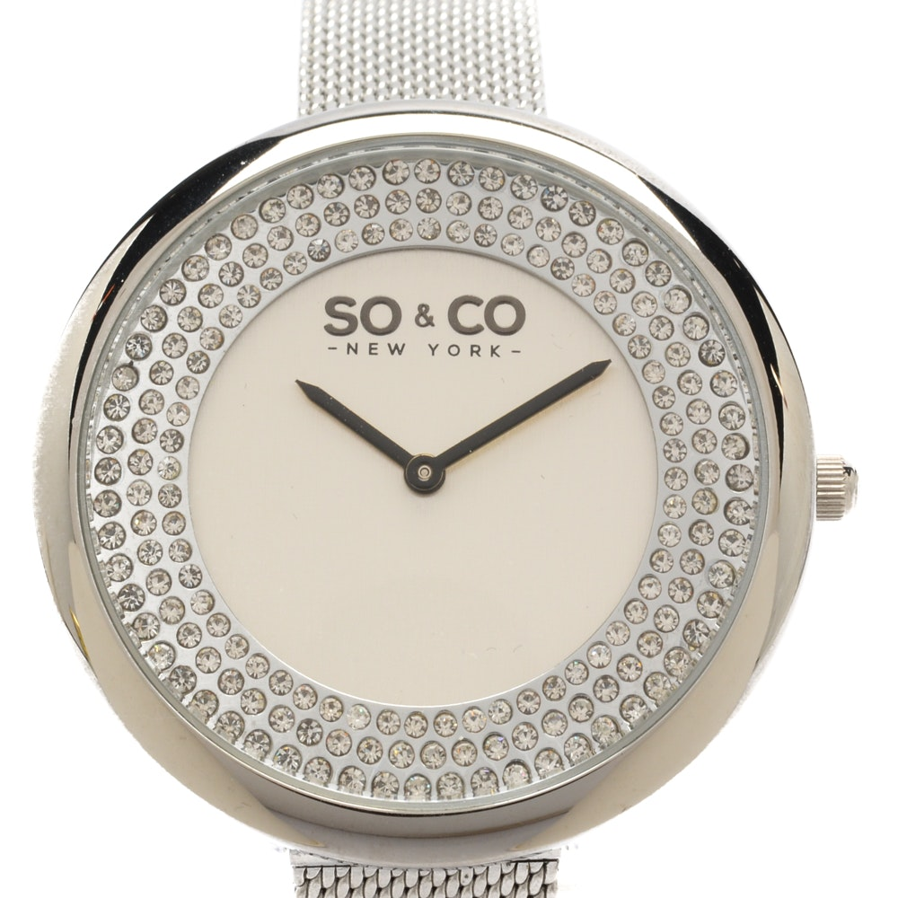So. & Co New York Fashion Wristwatch