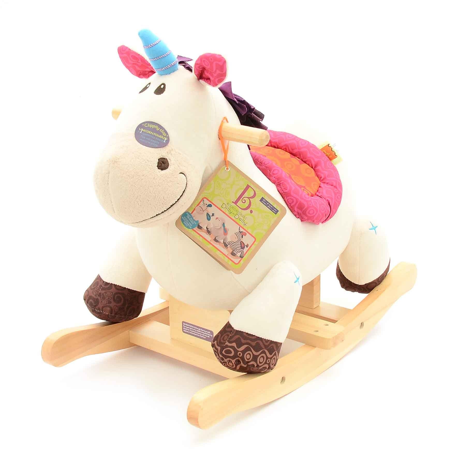 B. Toys Rocking Plush Unicorn