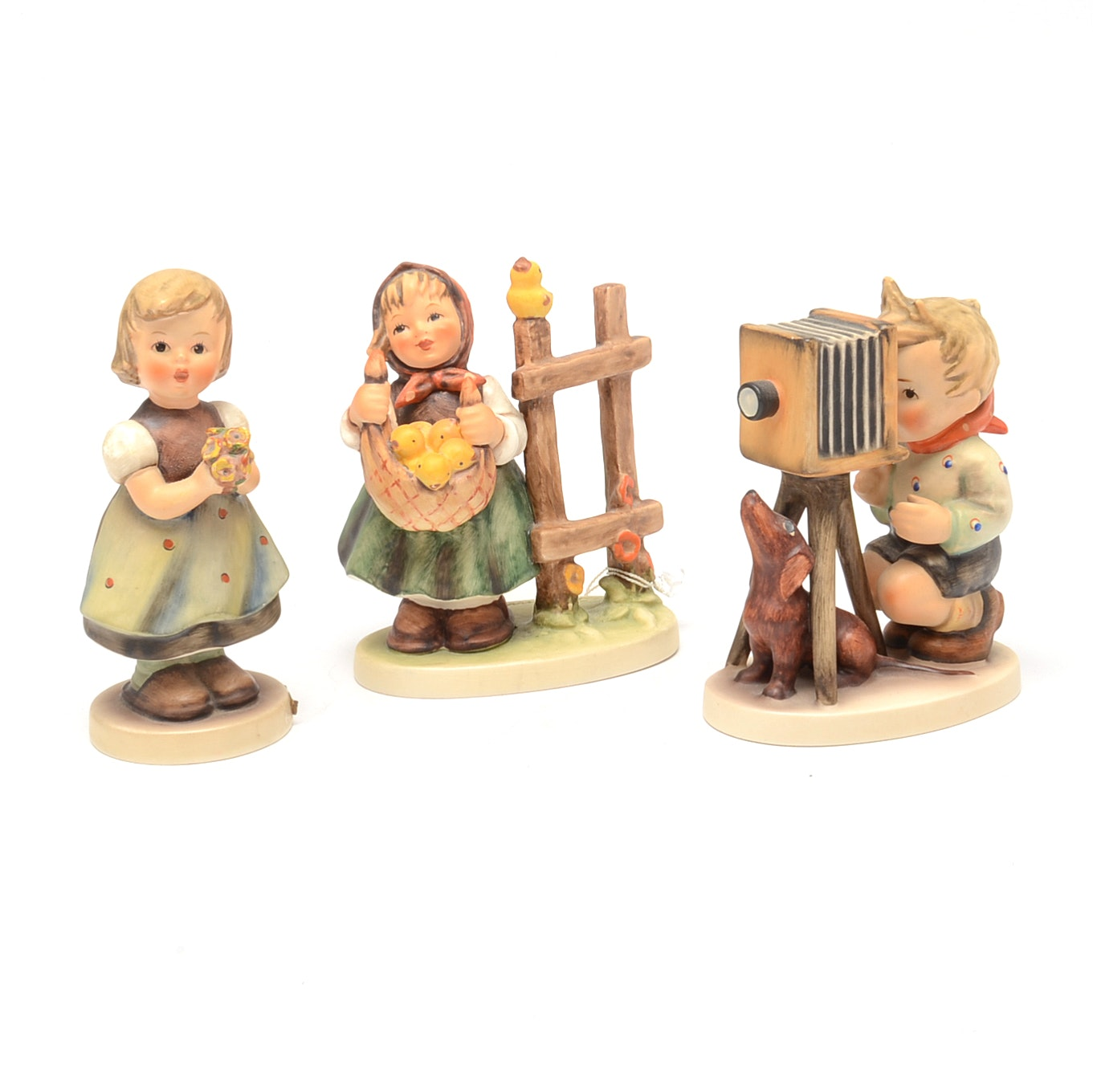 Selection of Hummel Figurines