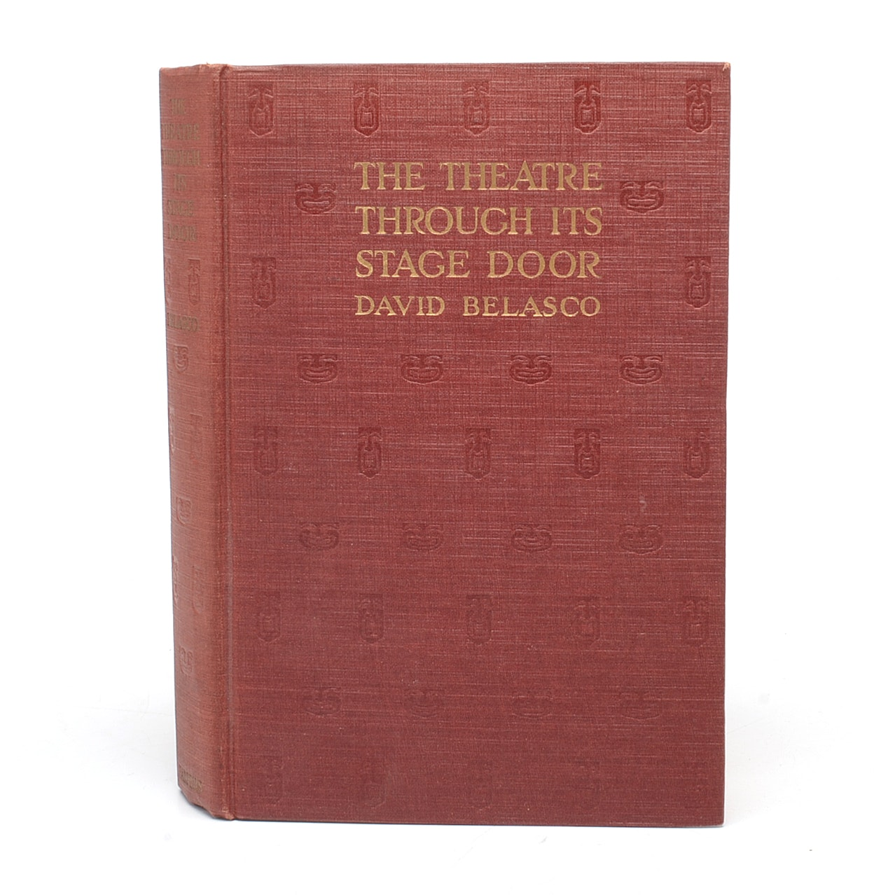 "Signed ""The Theatre Through its Stage Door"""