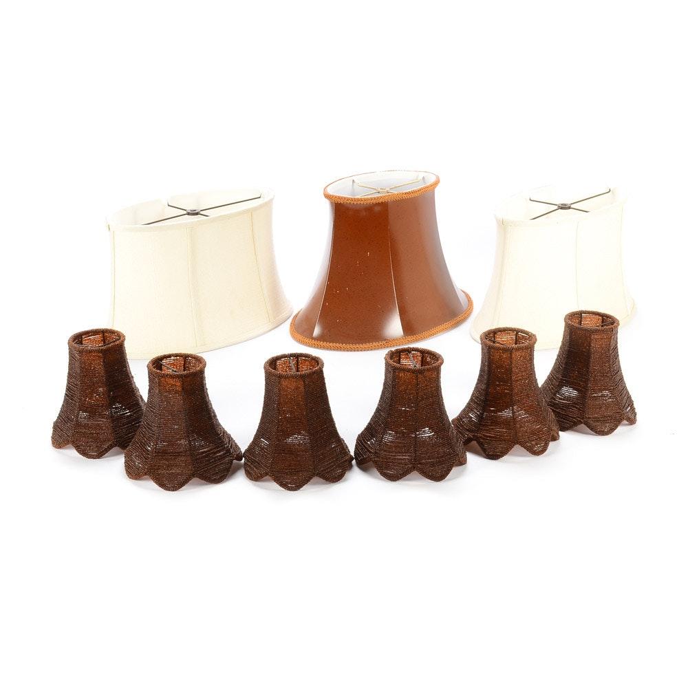 Group of Lamp Shades