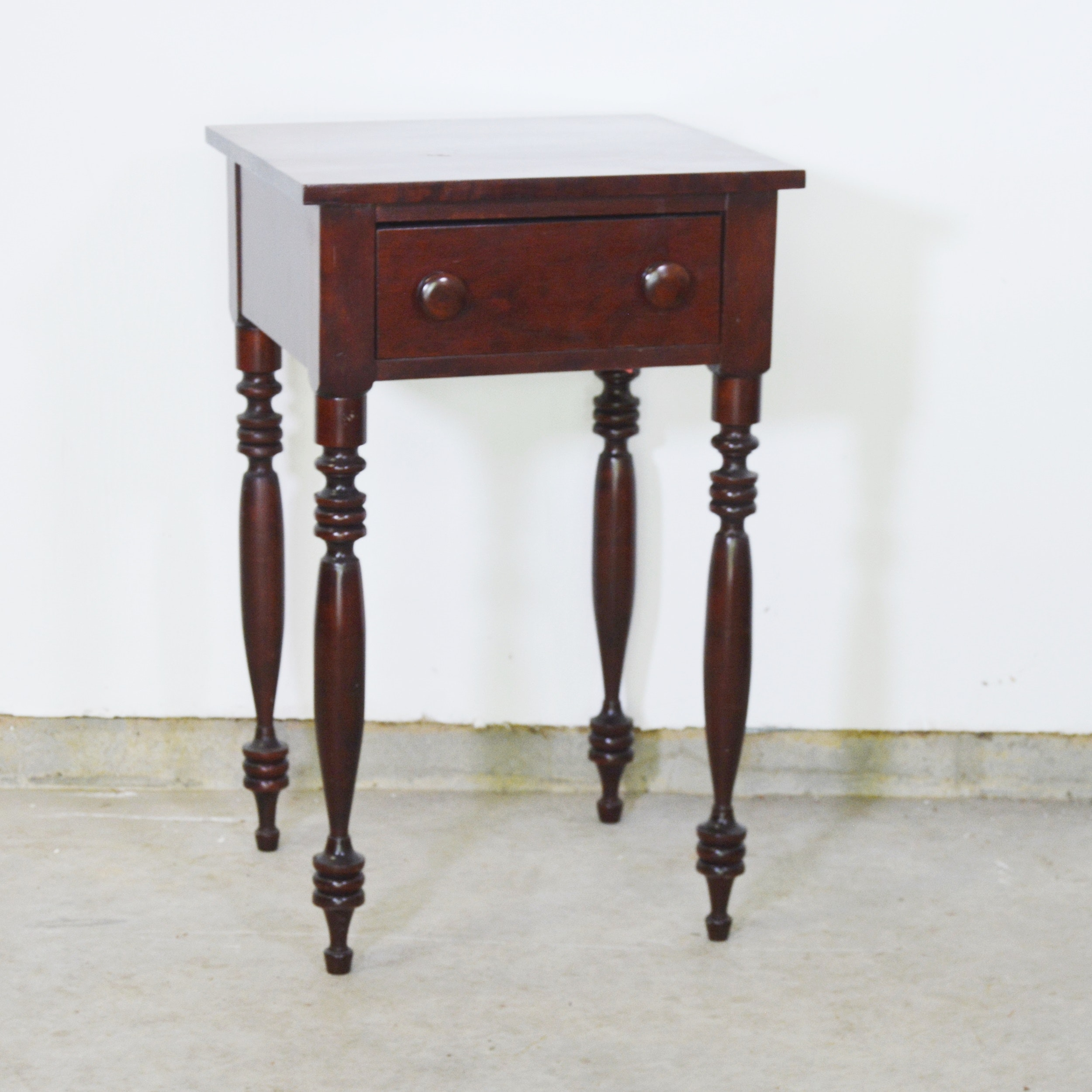 Cherry Reproduction End Table