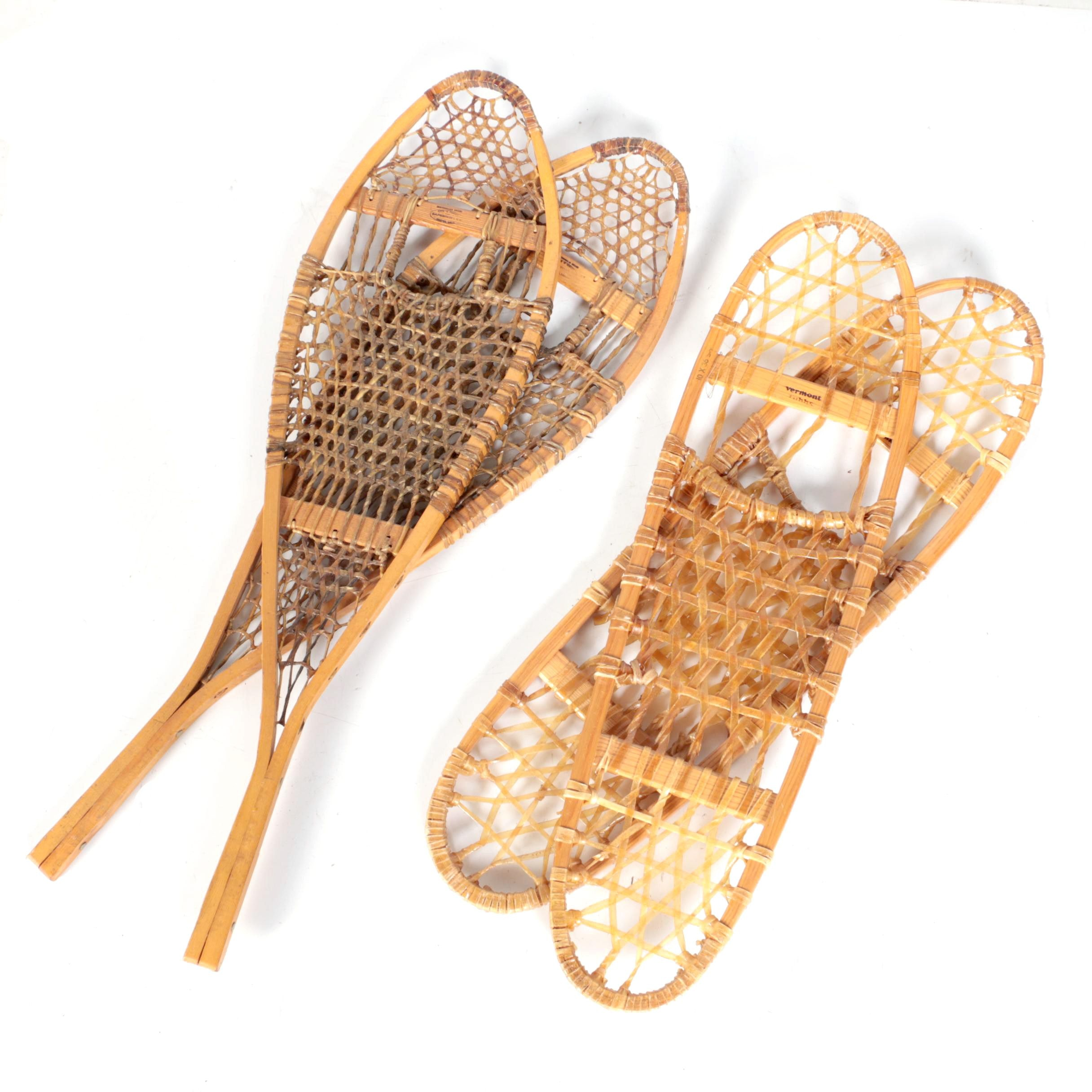 Northwoods and Vermont Tubbs Snowshoes