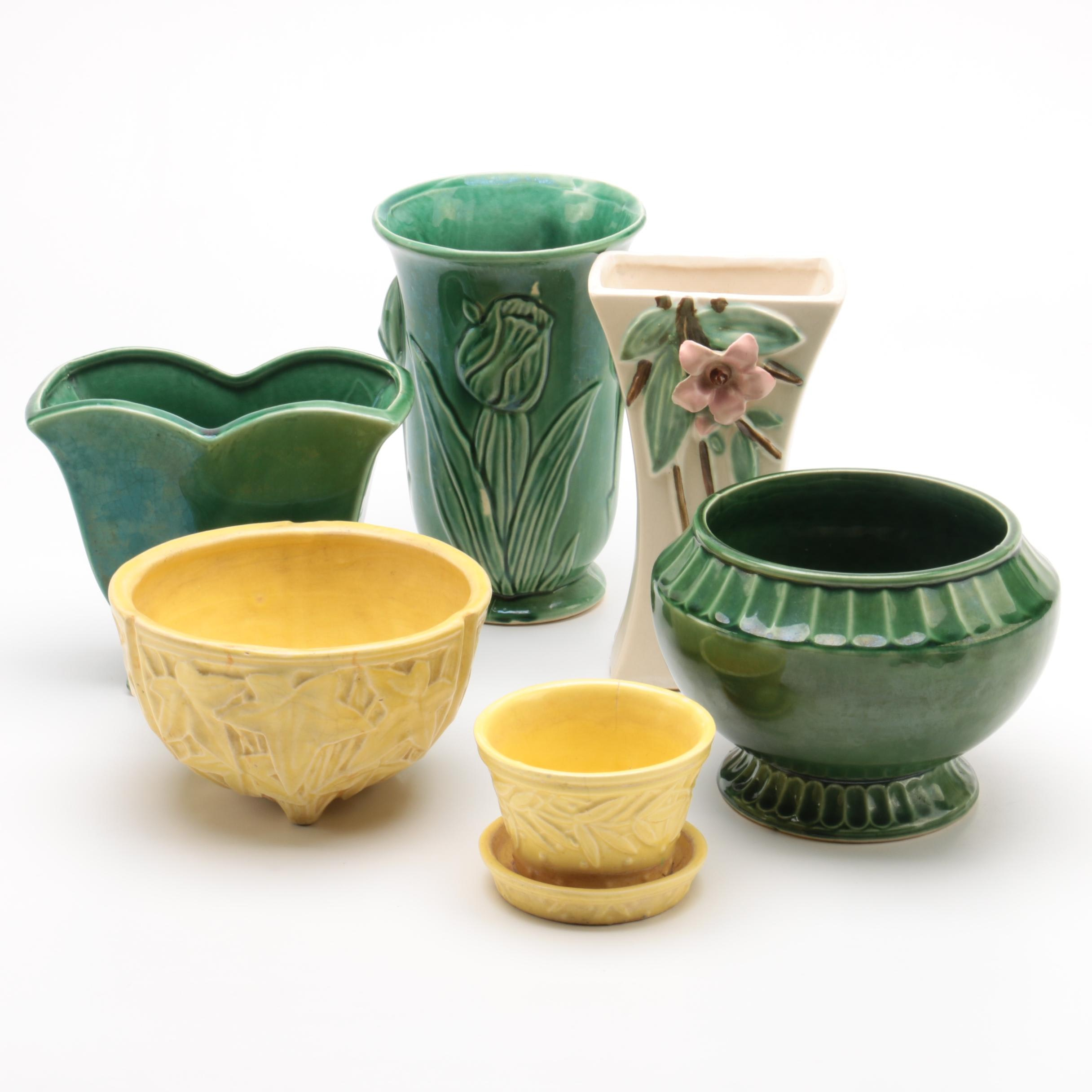 McCoy Pottery Vases and Planters