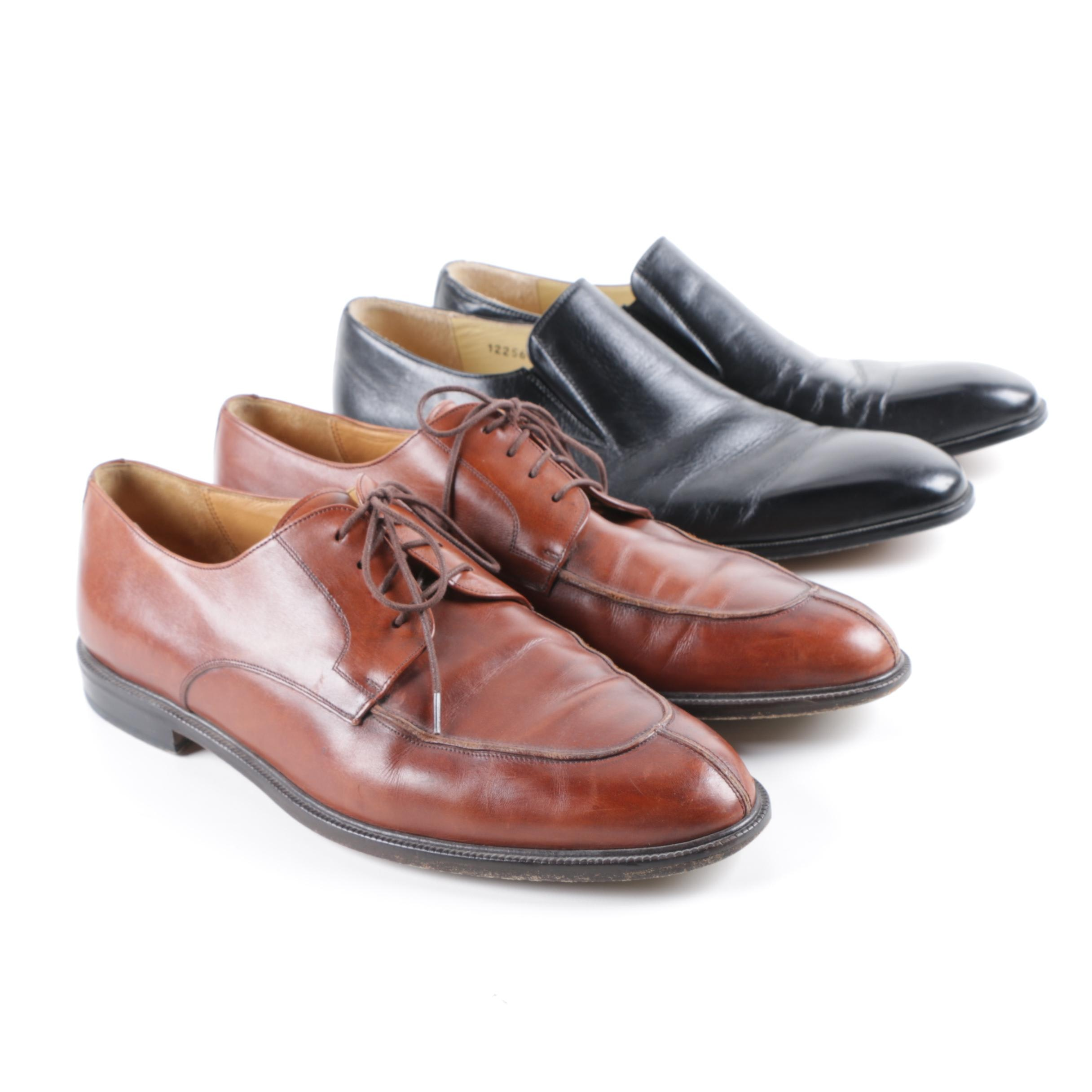 Men's Mezlan and Massimo Emporio Leather Dress Shoes