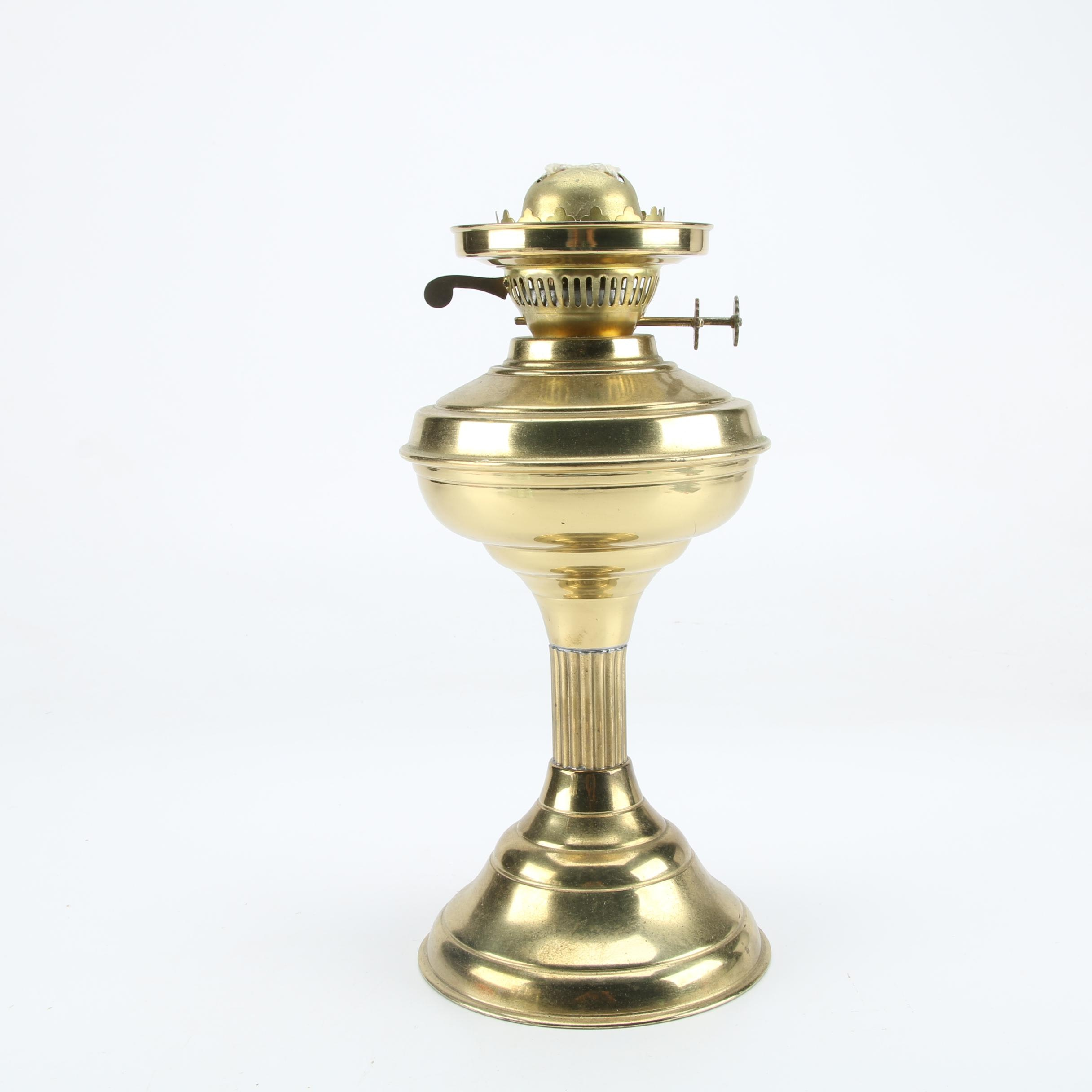 Brass Oil Lamp Base