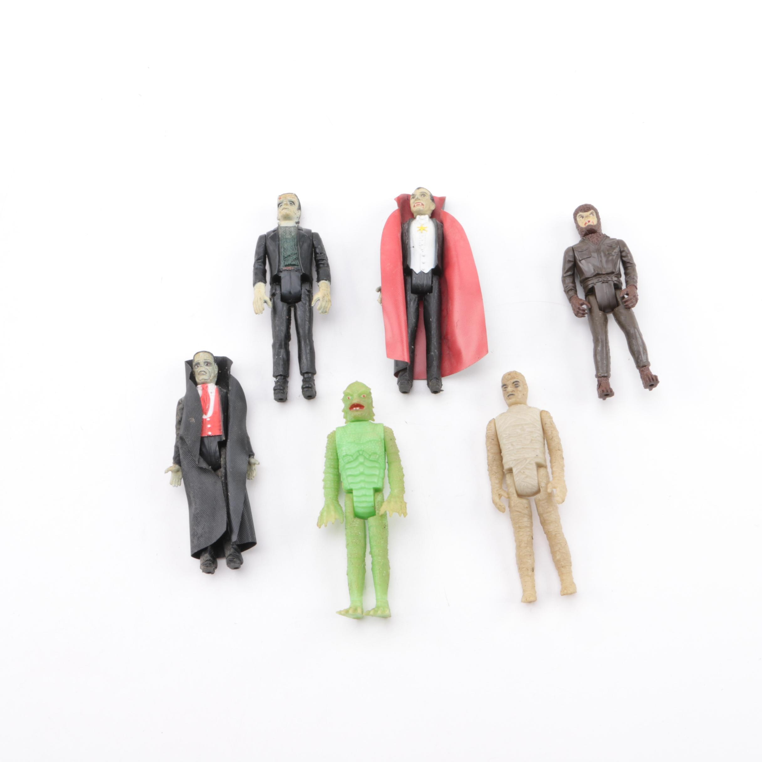 Remco Universal Monsters Horror Movie Monster Action Figures
