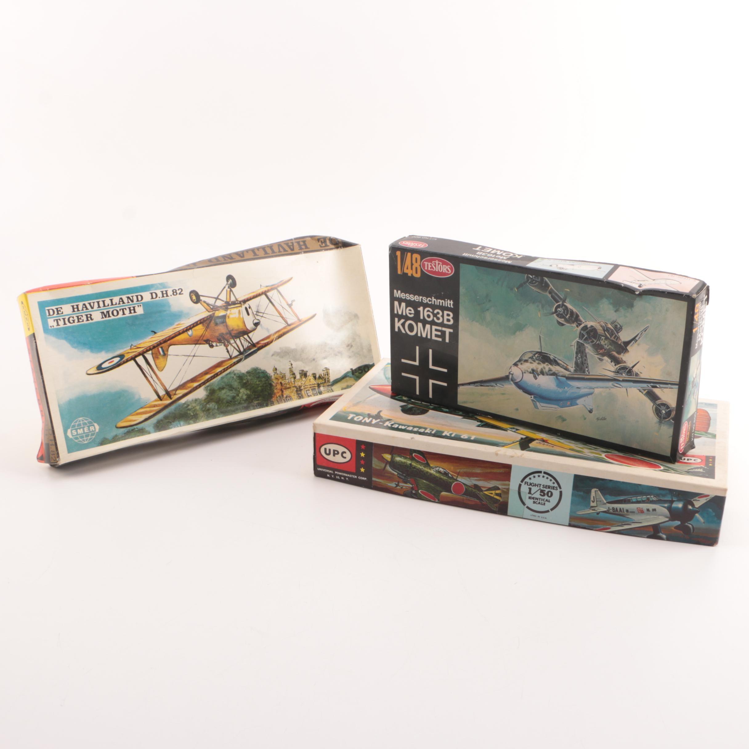 Military Aircraft Model Kits Including Smer