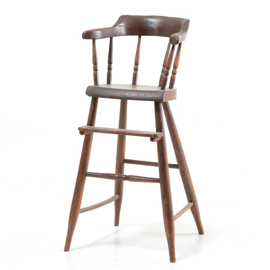 Antique High Chair ... - Antique High Chair : EBTH