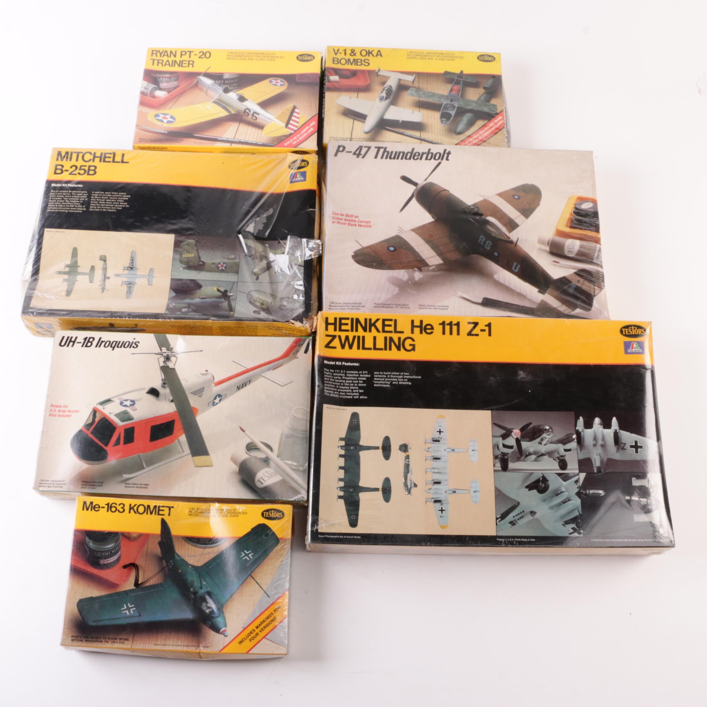 Testors Military Vehicle Model Kits