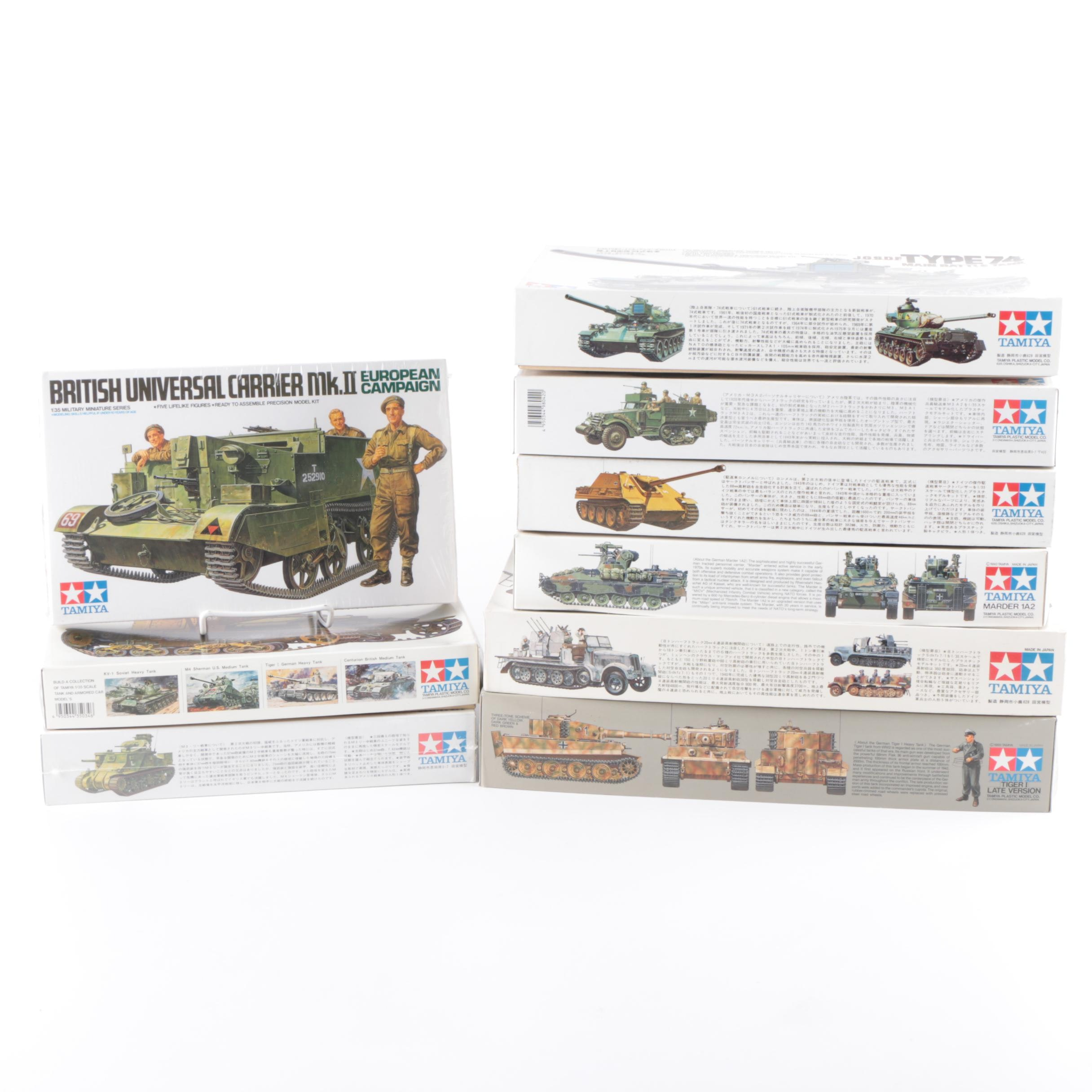 Tamiya Military Vehicle Model Kits