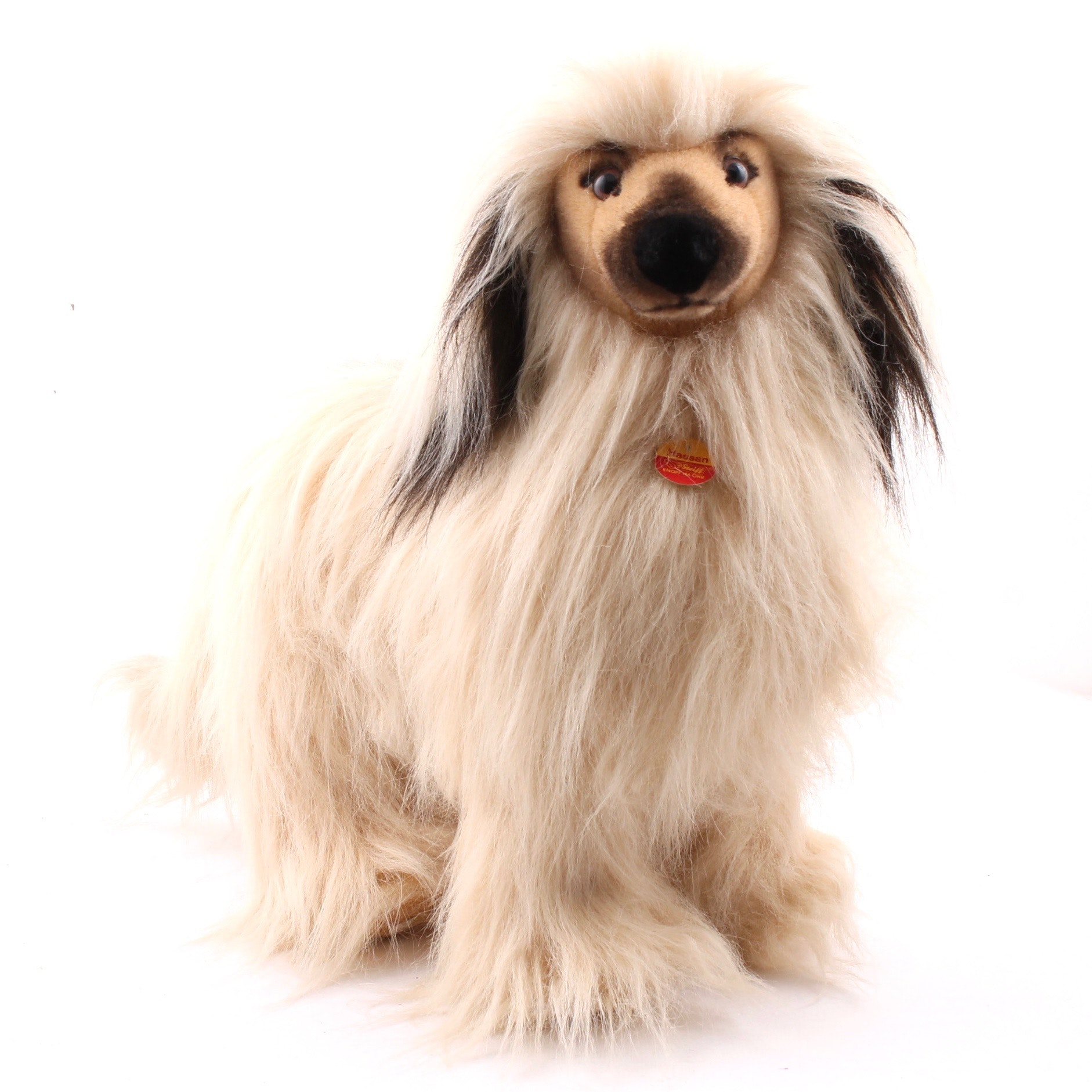 "Vintage Steiff ""Hassan"" Afghan Hound Plush Animal"