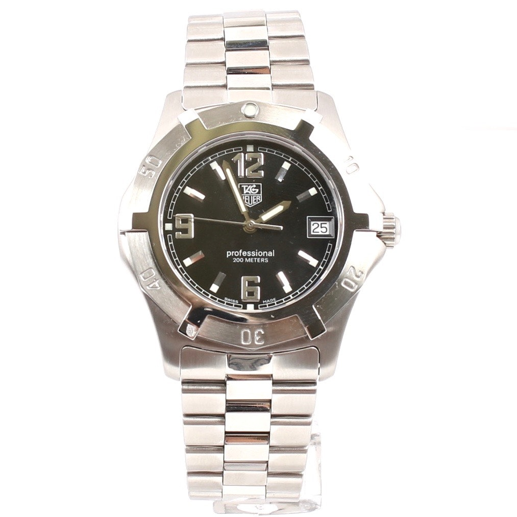 TAG Heuer Professional Stainless Steel Wristwatch