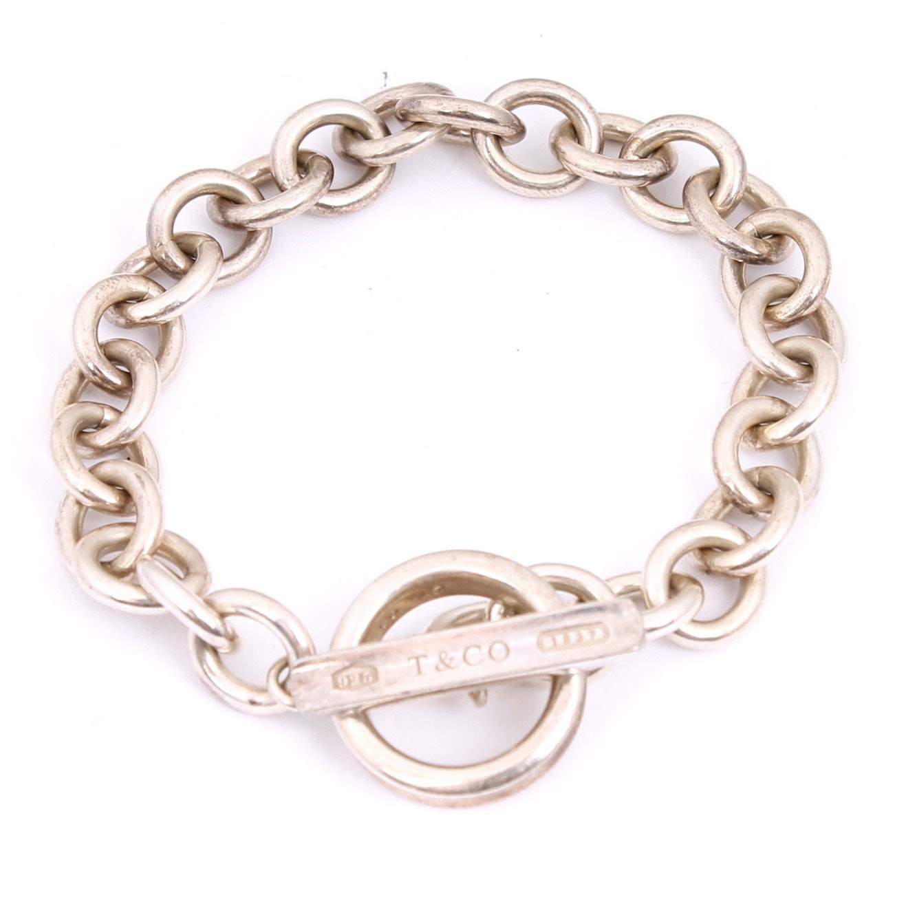 Tiffany & Co. Sterling Silver Link Bracelet
