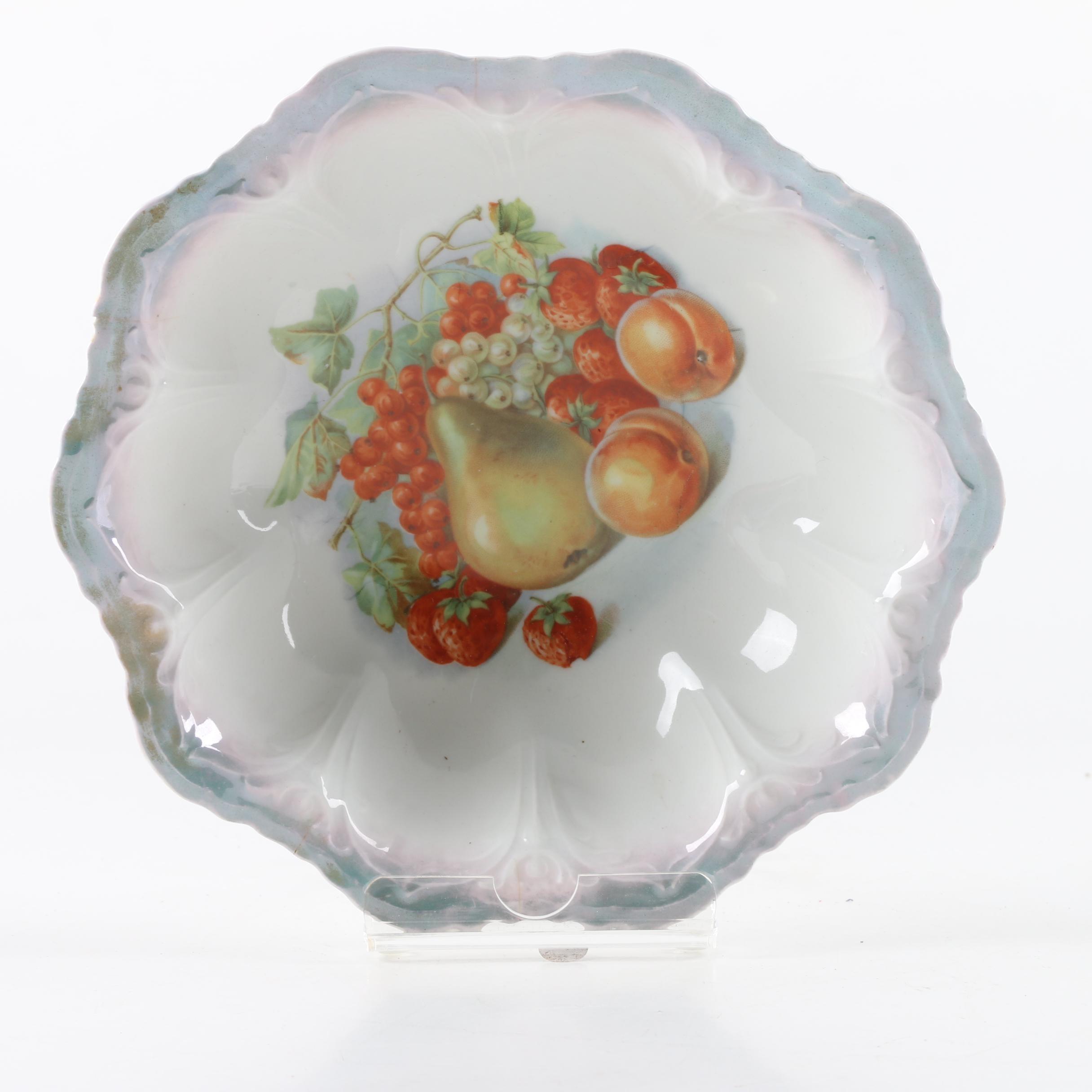 Antique Kühler & Quist Porcelain Bowl ca. 1906-09