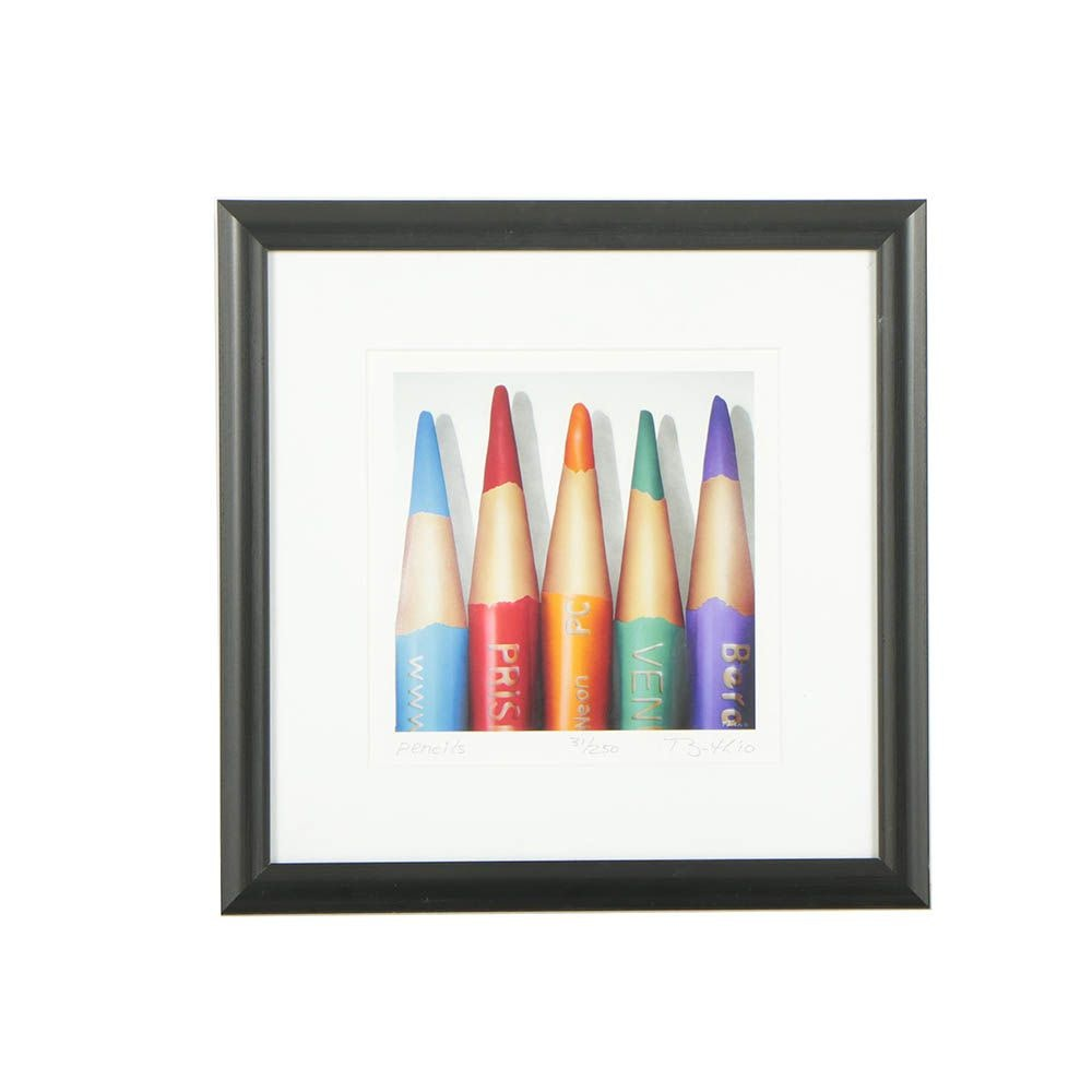 "John Booth Limited Edition Giclée ""Pencils"""
