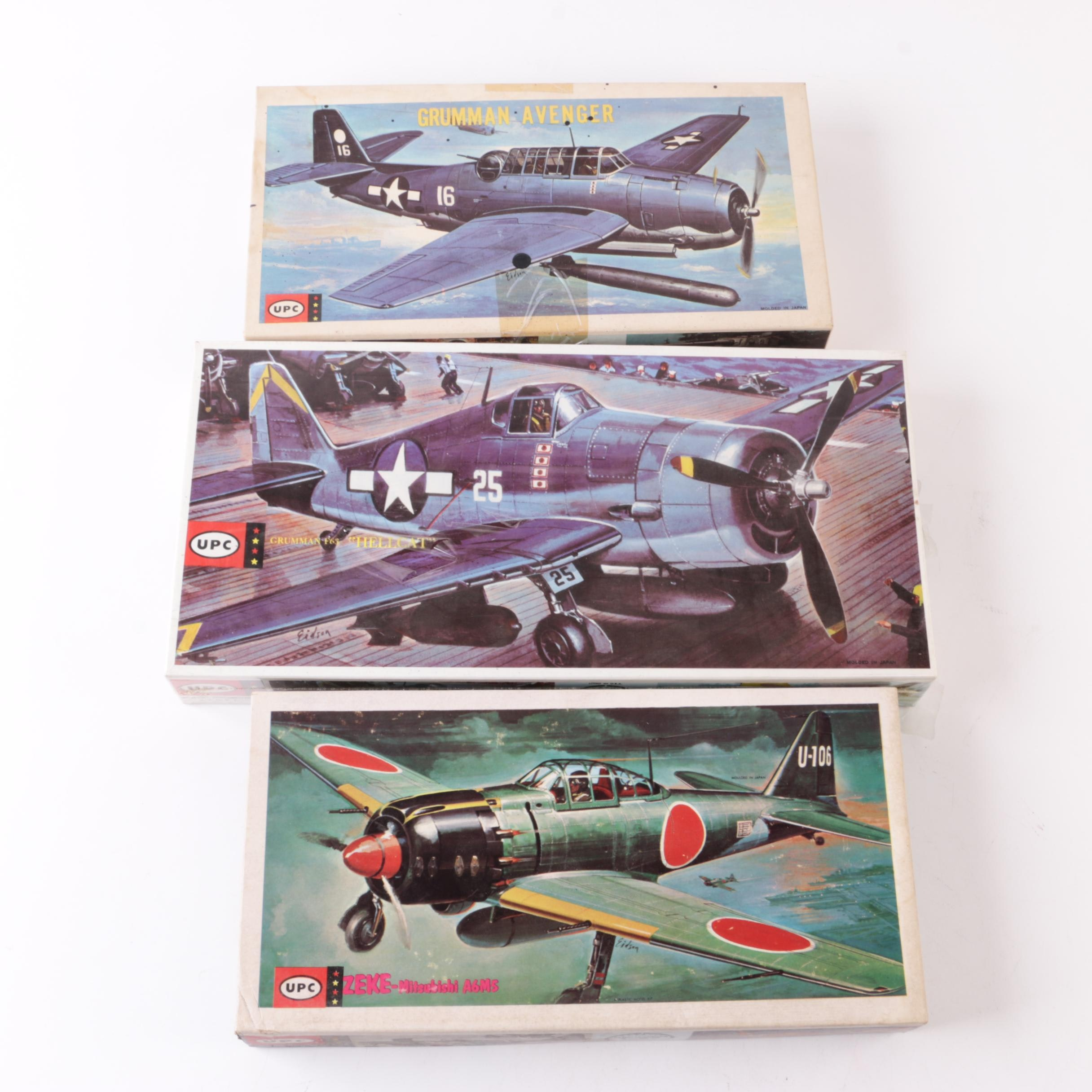 UPC Military Aircraft Model Kits