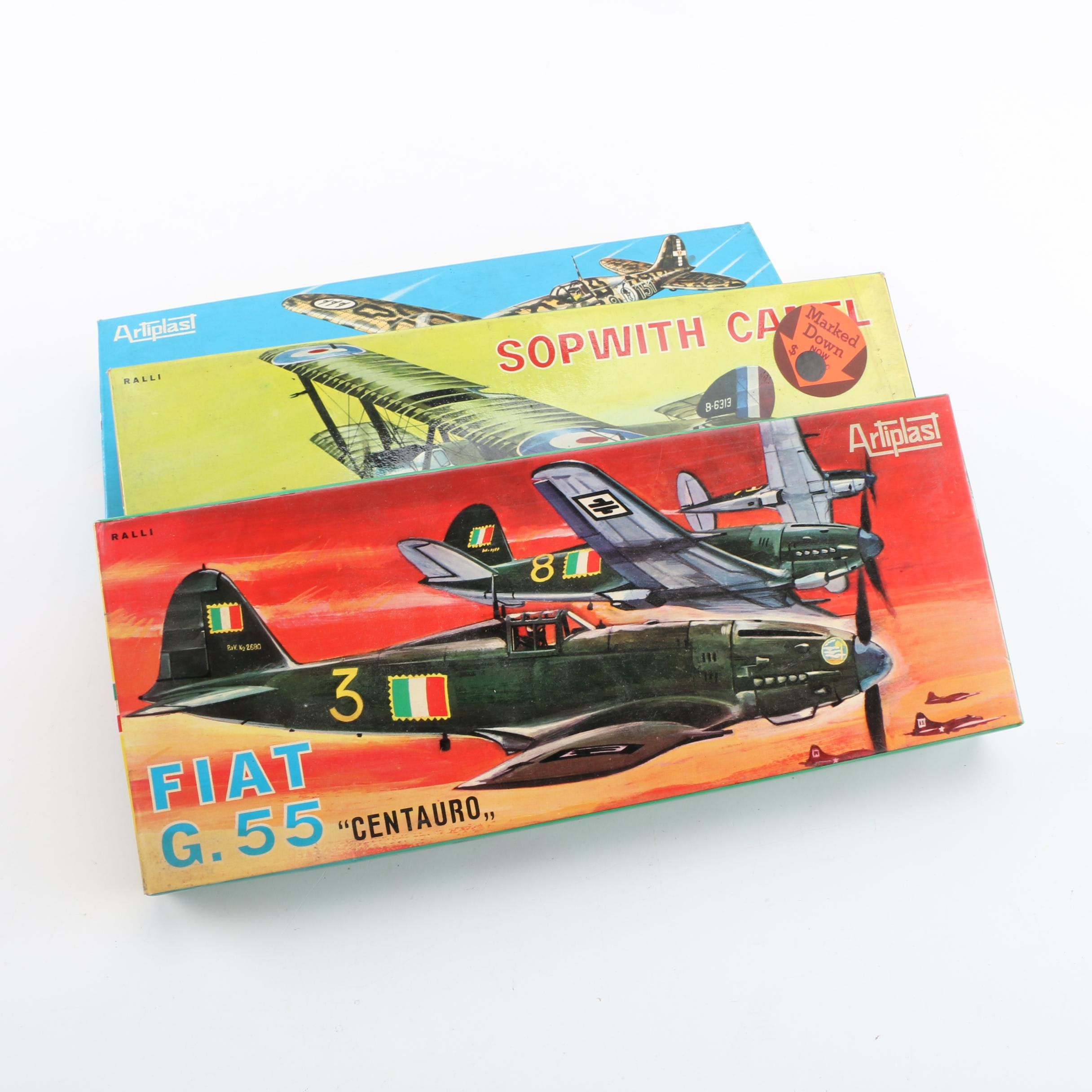 Artiplast Military Aircraft Model Kits